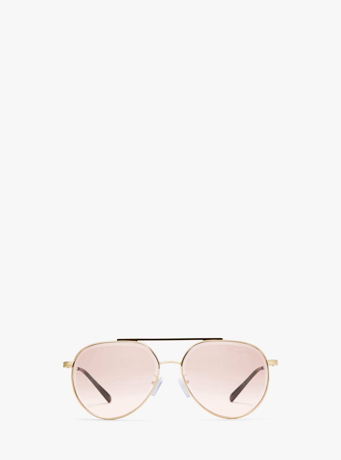 michael kors antigua sunglasses lyst Oakley Crankcase Sunglasses Purple michael kors women s antigua sunglasses