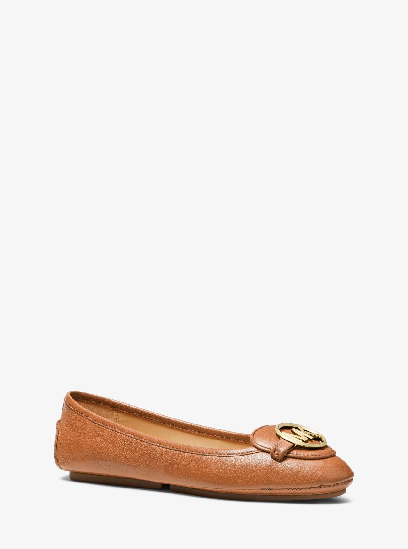 7433343a MICHAEL Michael Kors Lillie Leather Moccasin in Brown - Save 25% - Lyst