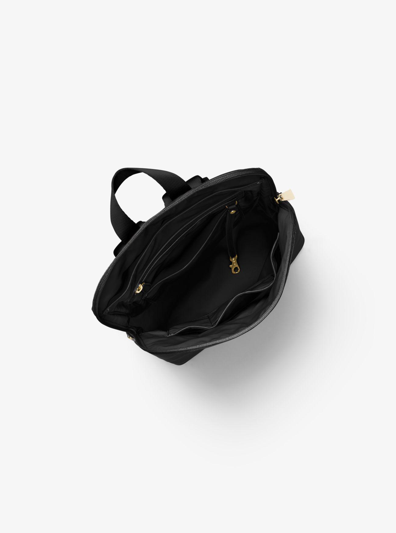 bb87f53a6eec MICHAEL Michael Kors - Black Polly Medium Nylon Backpack - Lyst. View  fullscreen