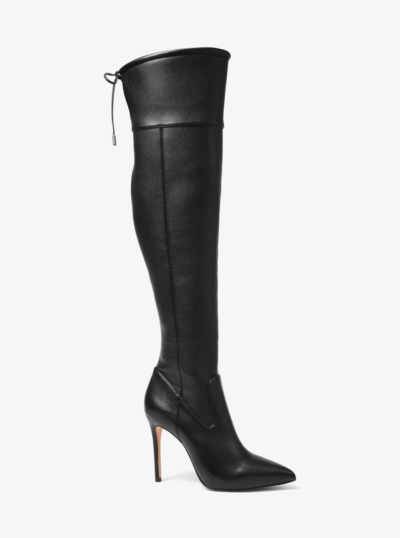 8dc19fd4163 Lyst - MICHAEL Michael Kors Jamie Stretch Over-the-knee Stiletto ...