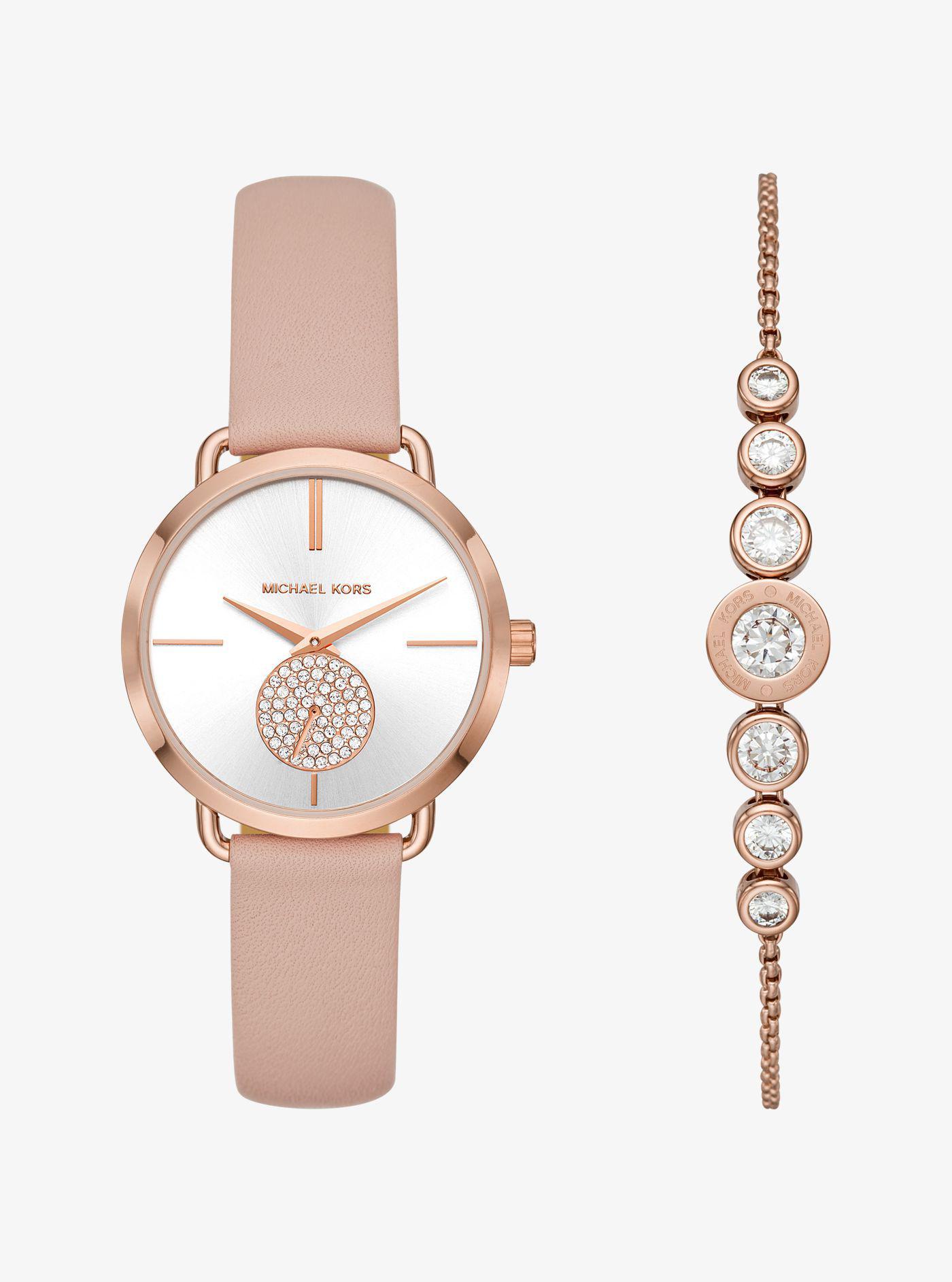 d835b73caddc Michael Kors Ladies Rose Gold Tone Bracelet Watch - Image Of Bear ...