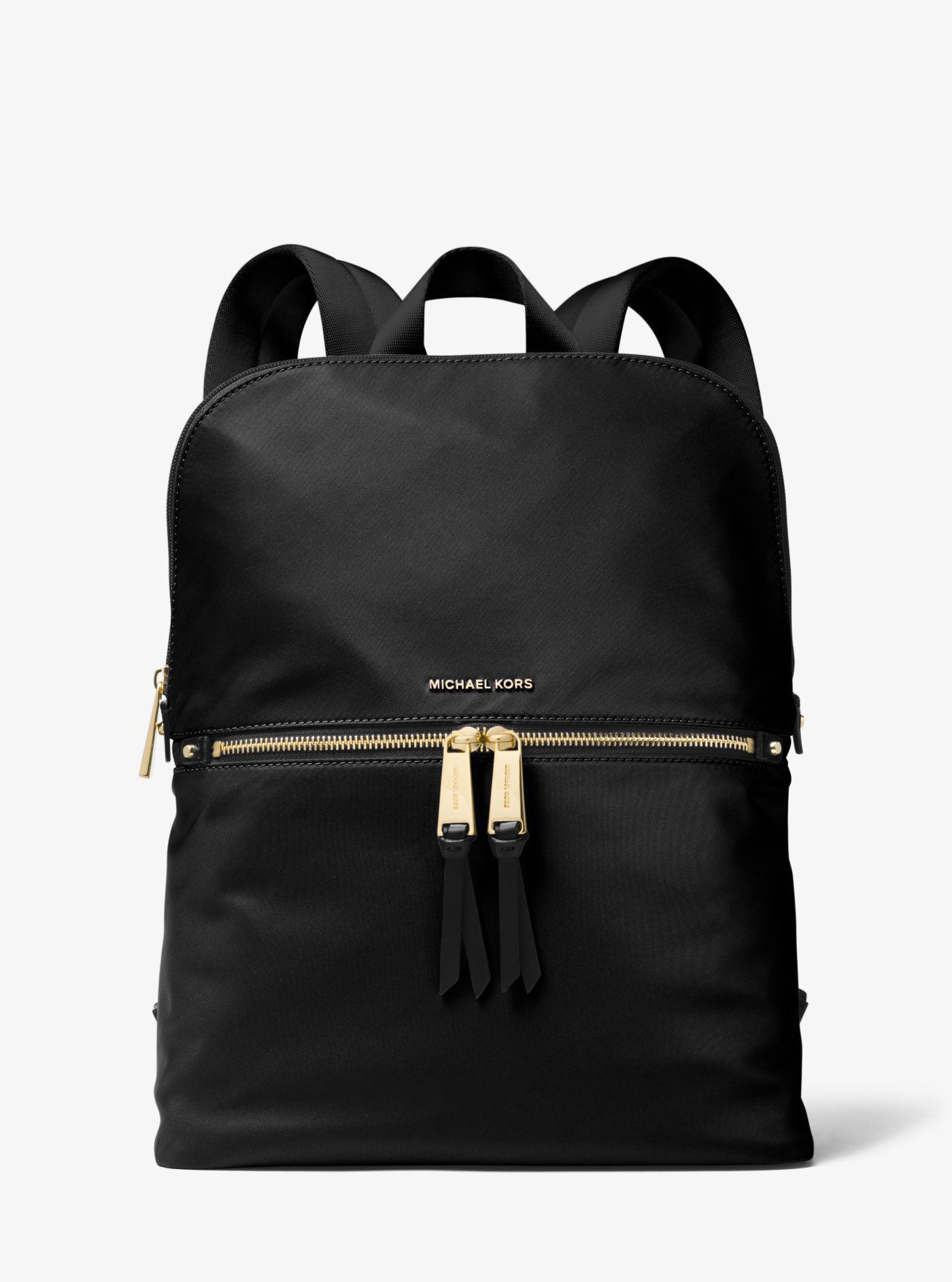 8c48dfe6f5975 Michael Kors - Black Polly Medium Nylon Backpack - Lyst. View fullscreen