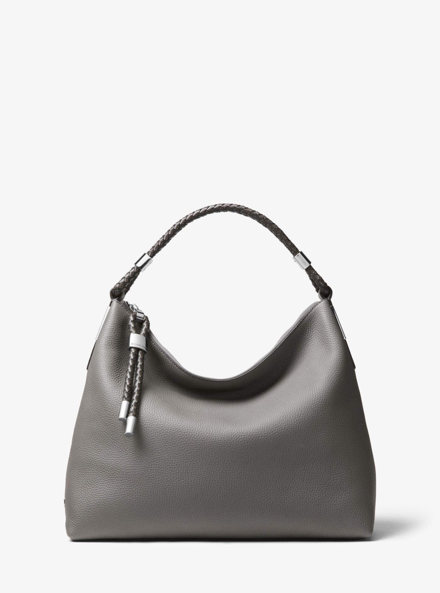 b3656212331f Michael Kors. Women s Skorpios Small Pebbled Leather Shoulder Bag