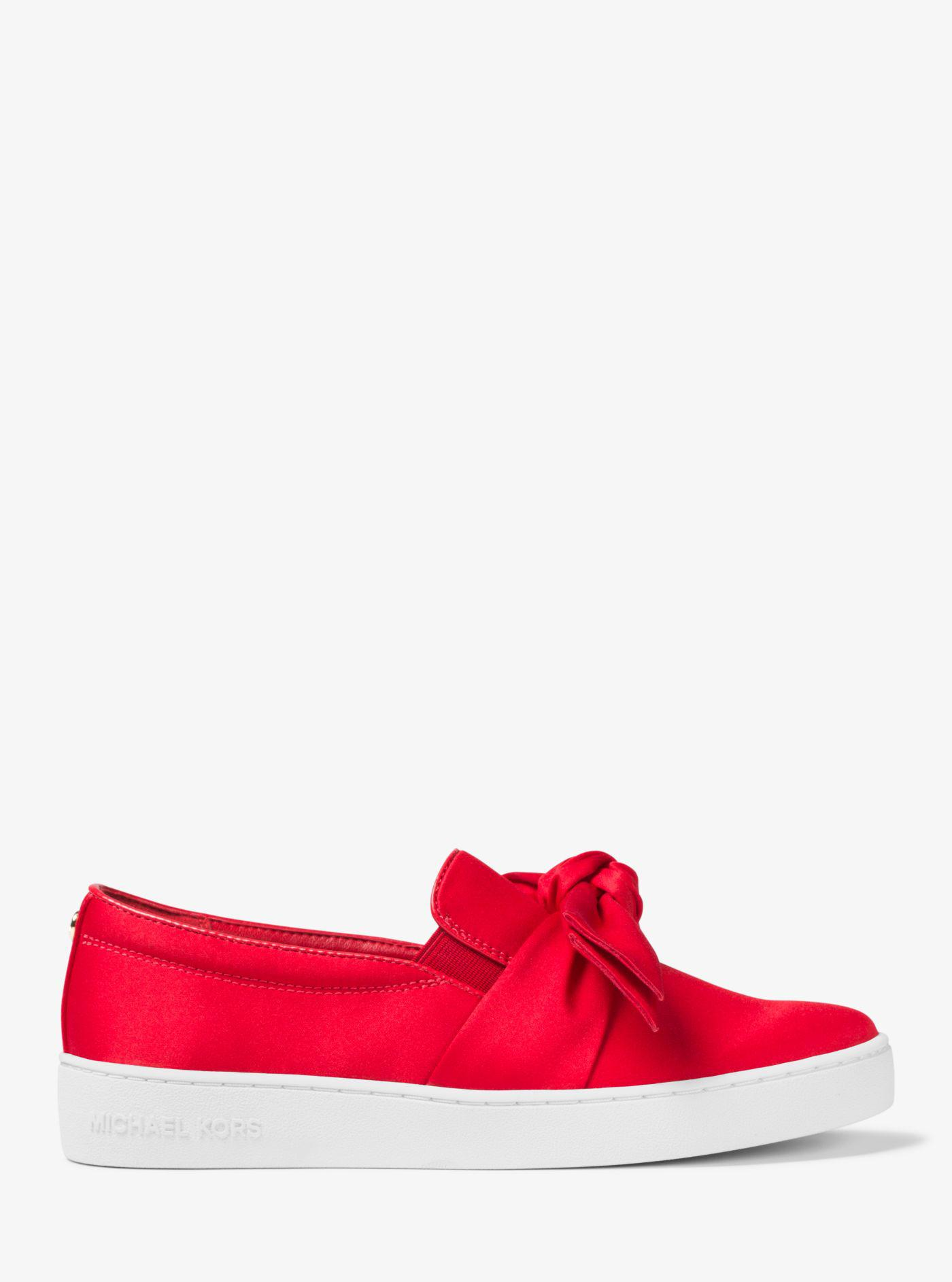 Read more Red Satin Bow Slip-On Sneakers wmfsh0yW