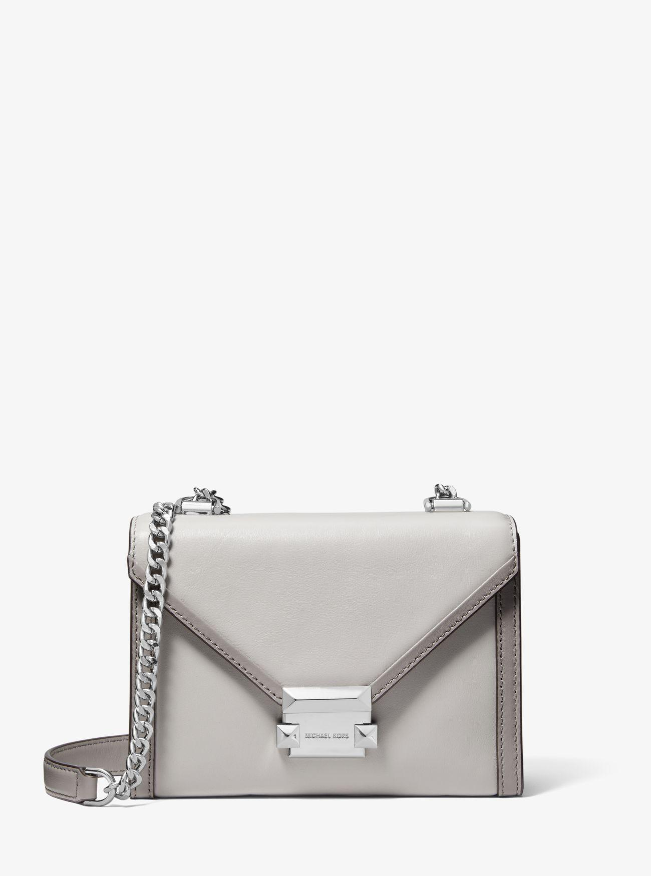 f572db8e36743 Michael Kors - Multicolor Whitney Small Two-tone Leather Convertible  Shoulder Bag - Lyst. View fullscreen