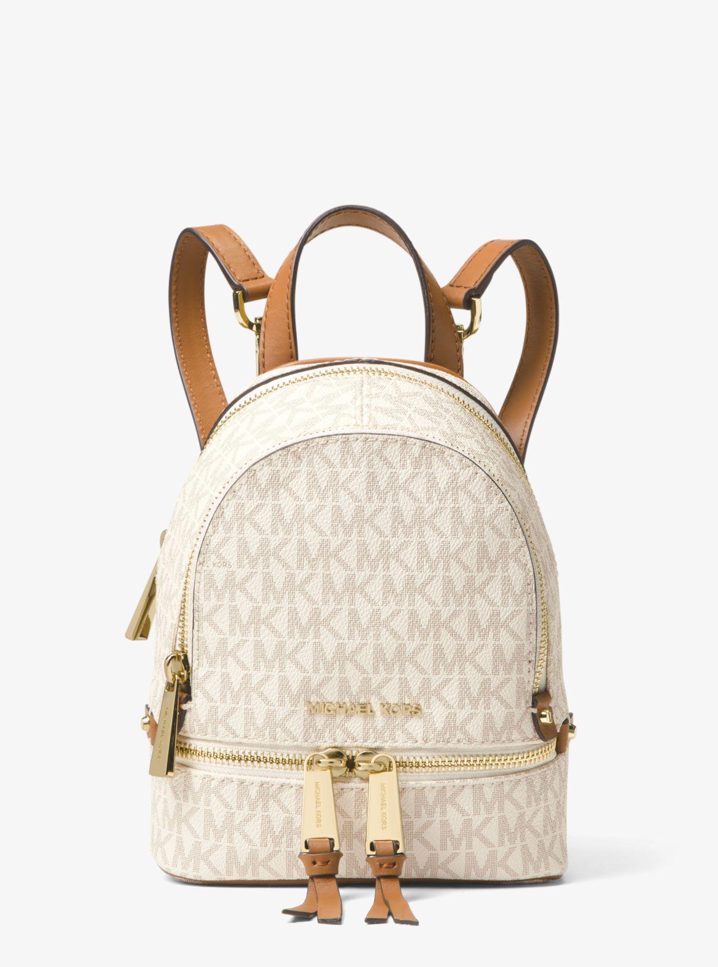 d7b784a73f69 Michael Kors. Women's Rhea Mini Logo Backpack