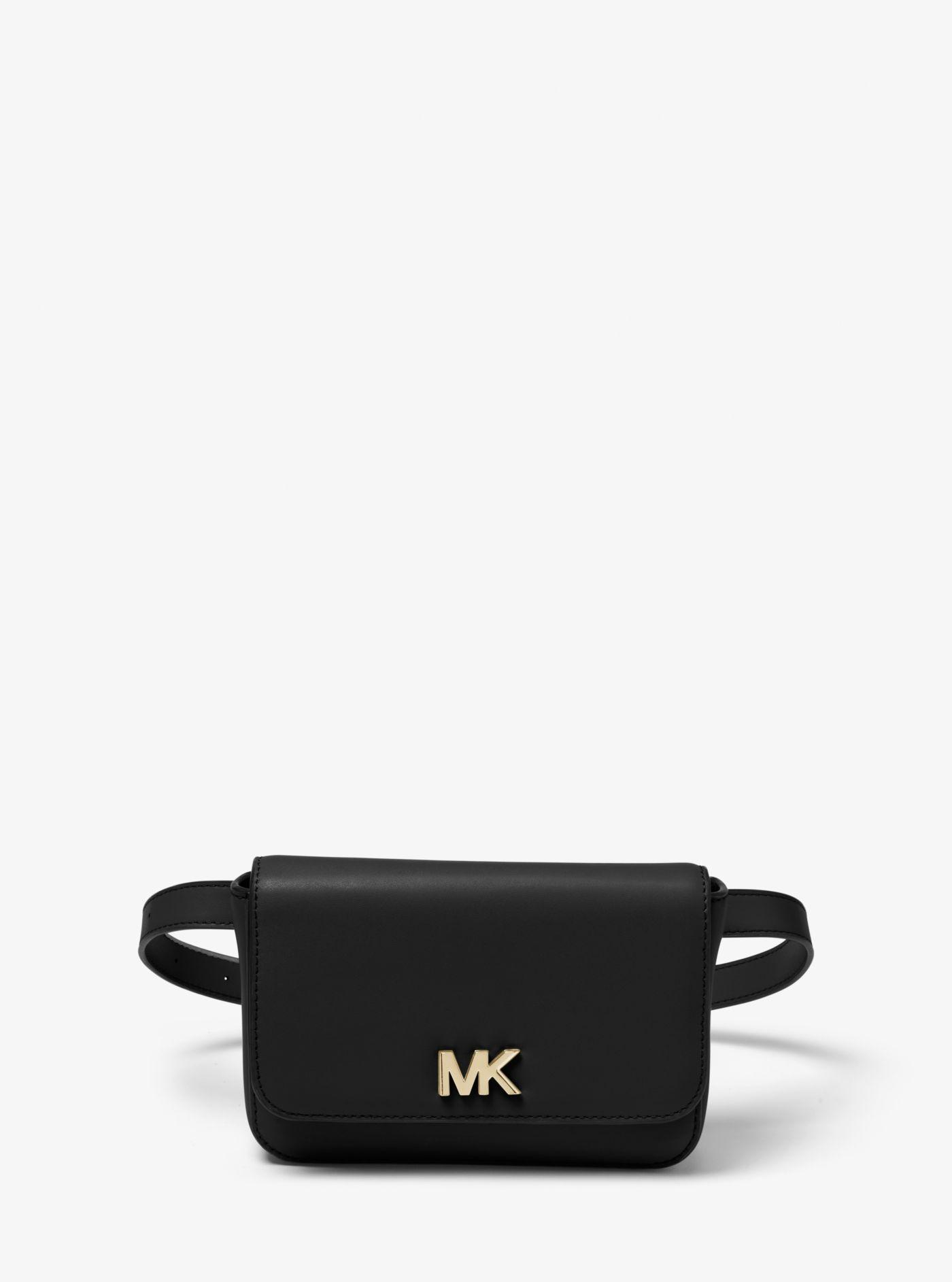 1f386375a2d Lyst - Sac ceinture Mott en cuir Michael Kors en coloris Noir