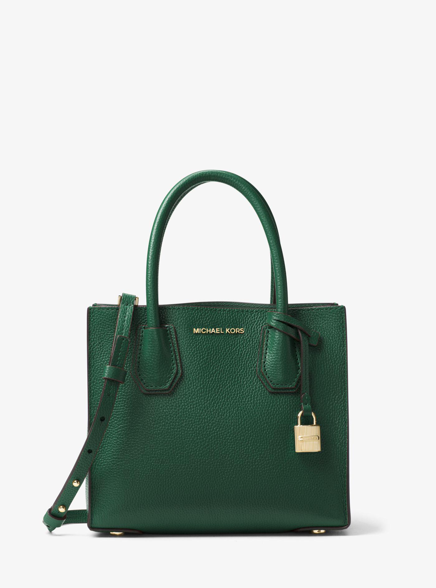 c4a2898d308a 63f2b 53d5f; germany michael kors mercer mini matching wallet lyst michael  kors mercer medium leather bag in green