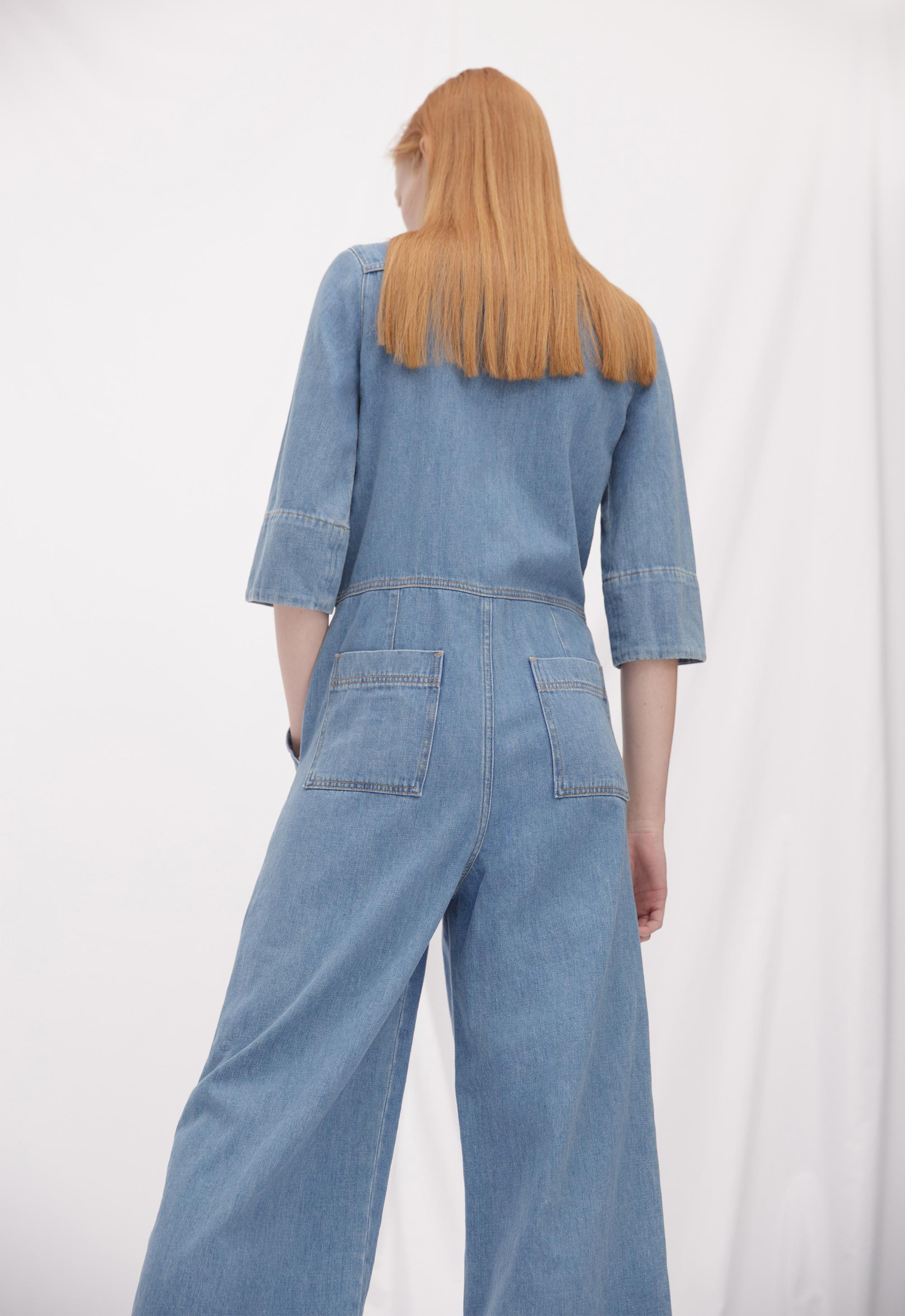 a9d5ff334d8 Mih Jeans Calman All-in-one in Blue - Lyst