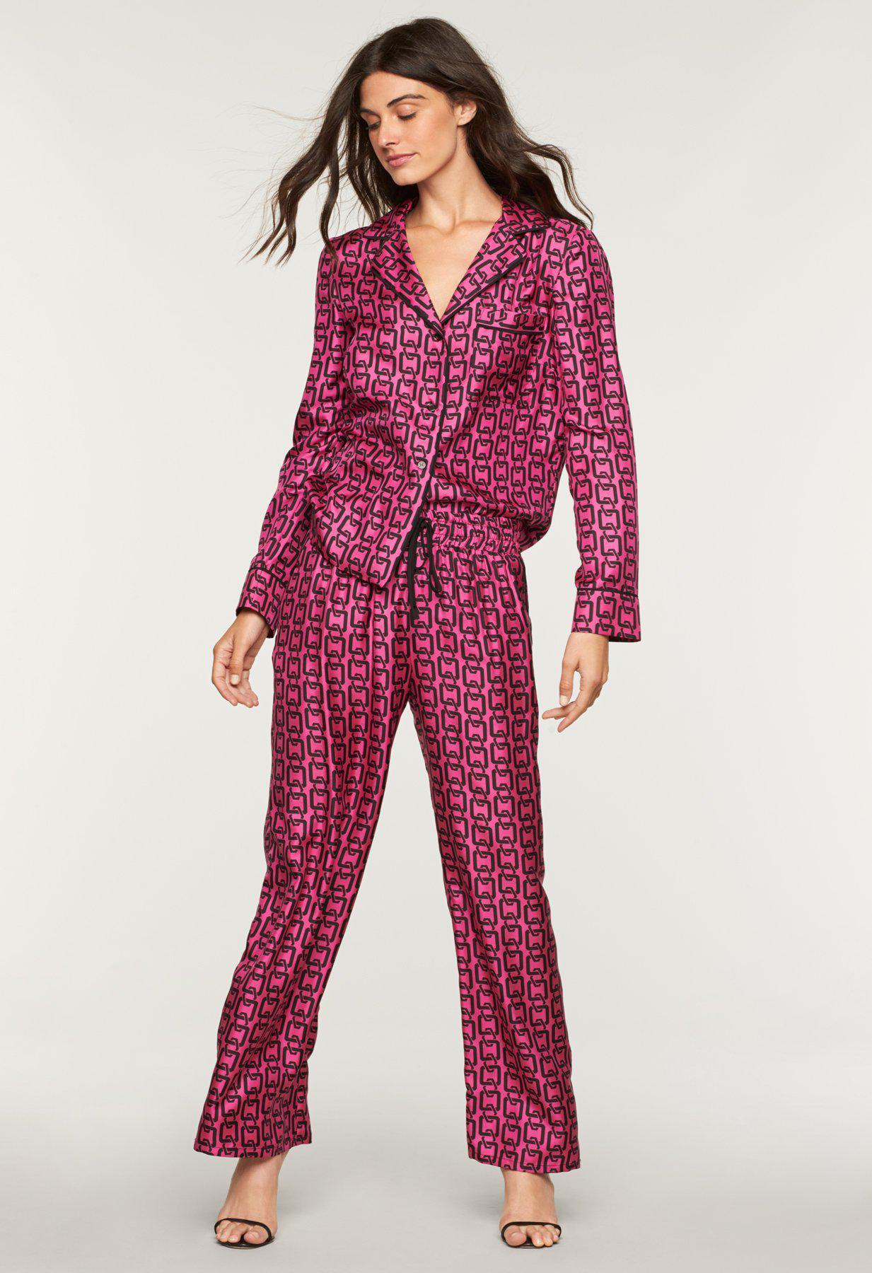 d56c62c08e ... Chain Print Pajama Top - Lyst. View fullscreen