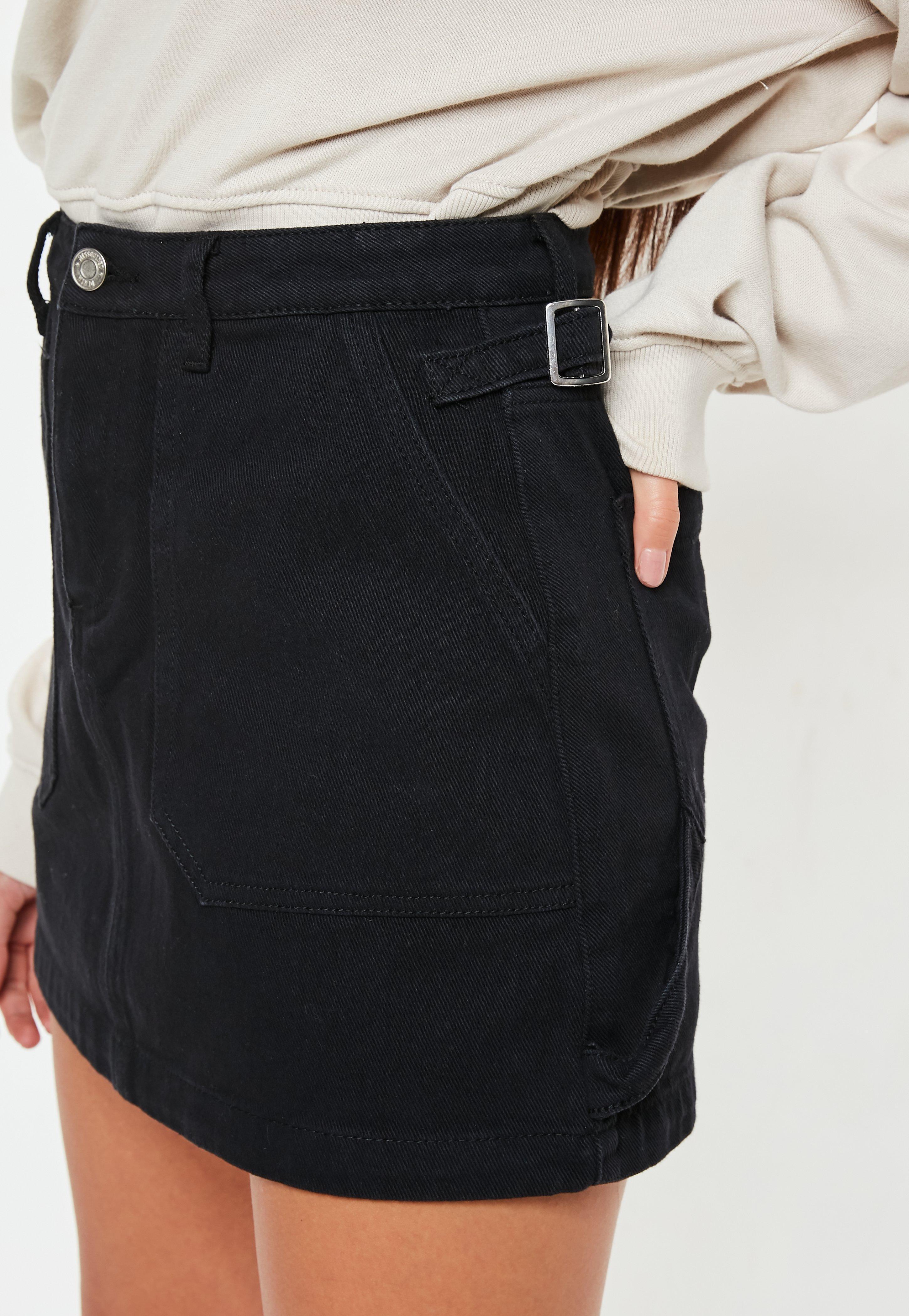 425d46c53 Erika Lilac Metallic Faux Leather Mini Skirt – DACC
