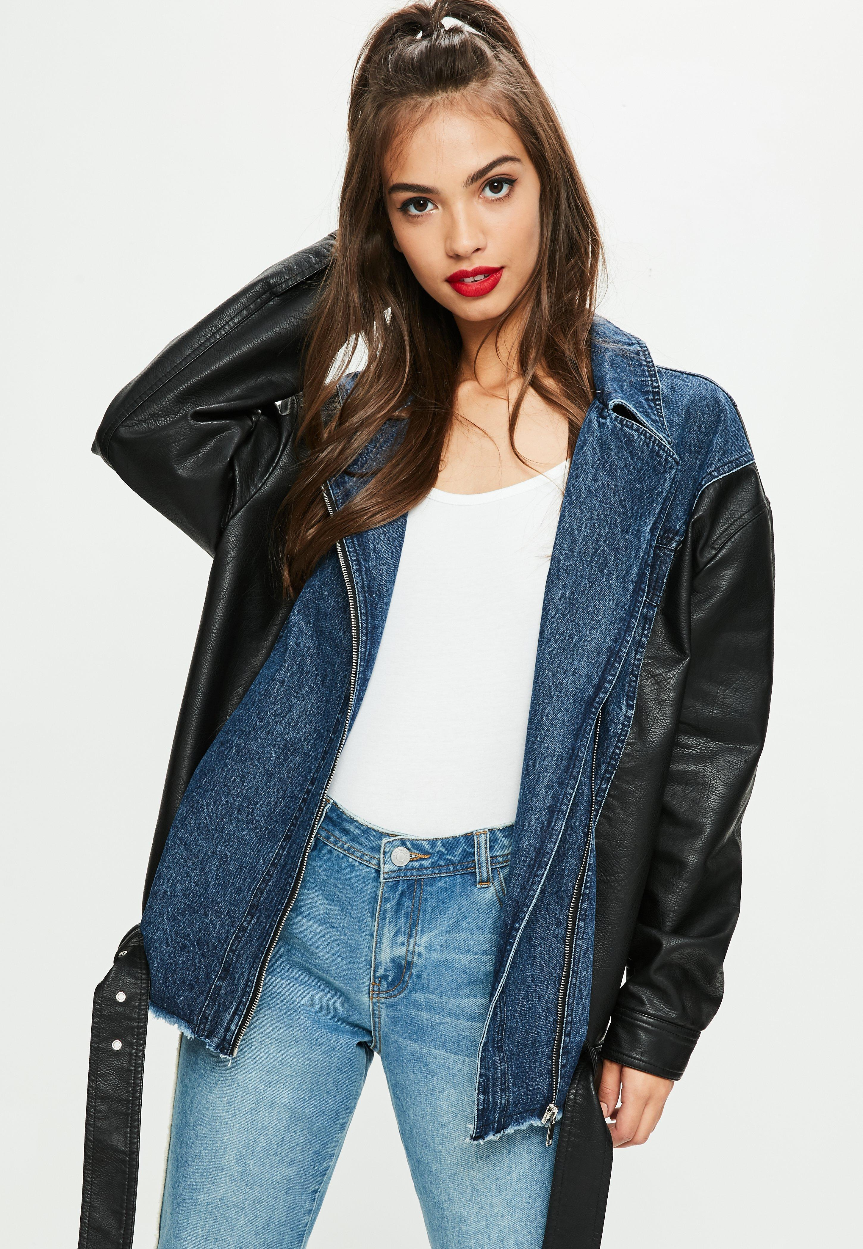 Leather jackets tall women