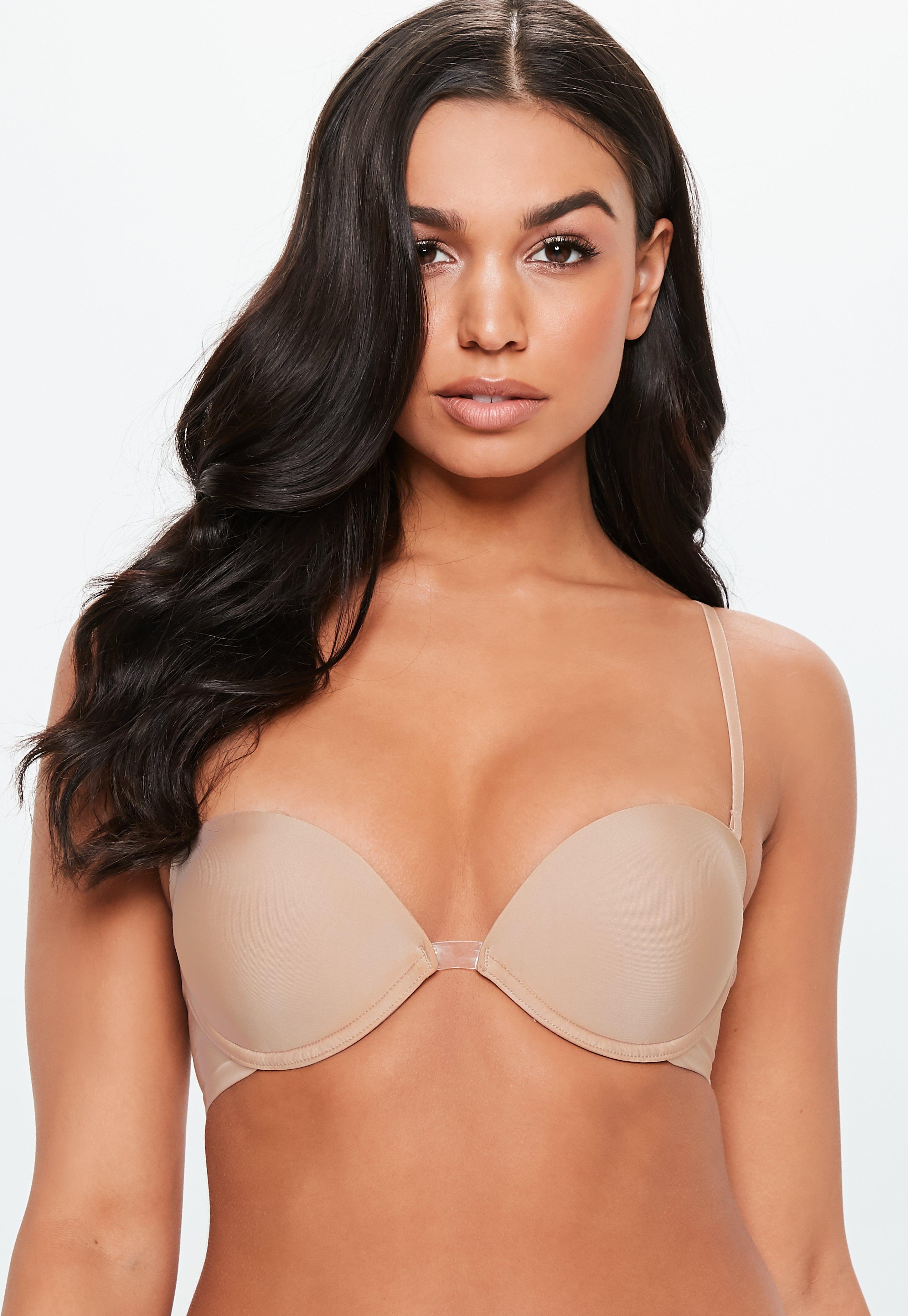 55fa31030ff9f Lyst - Missguided Nude Wonderbra Ultimate Multiway Bra in Natural