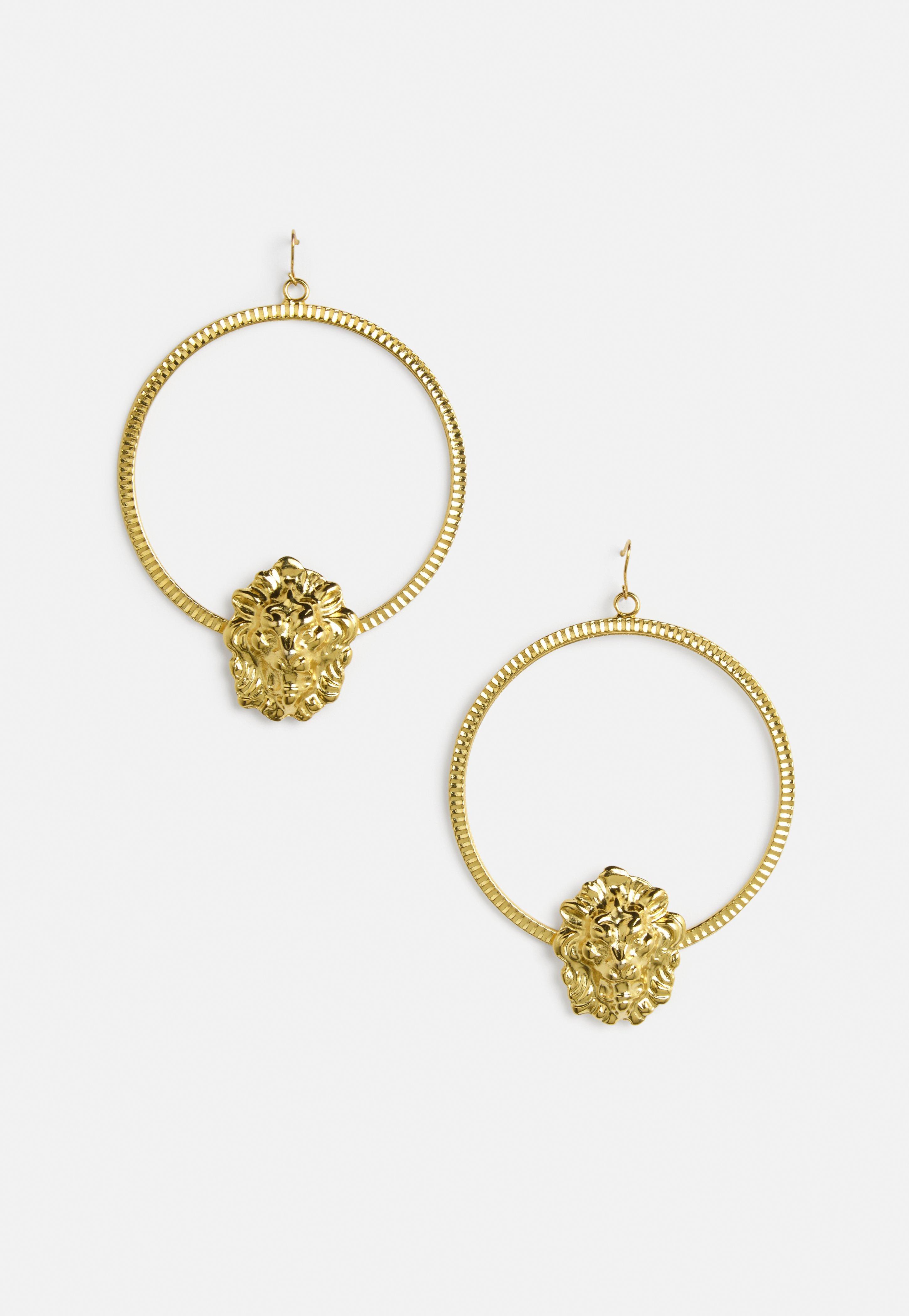 Gallery Women S Hoop Earrings Gold