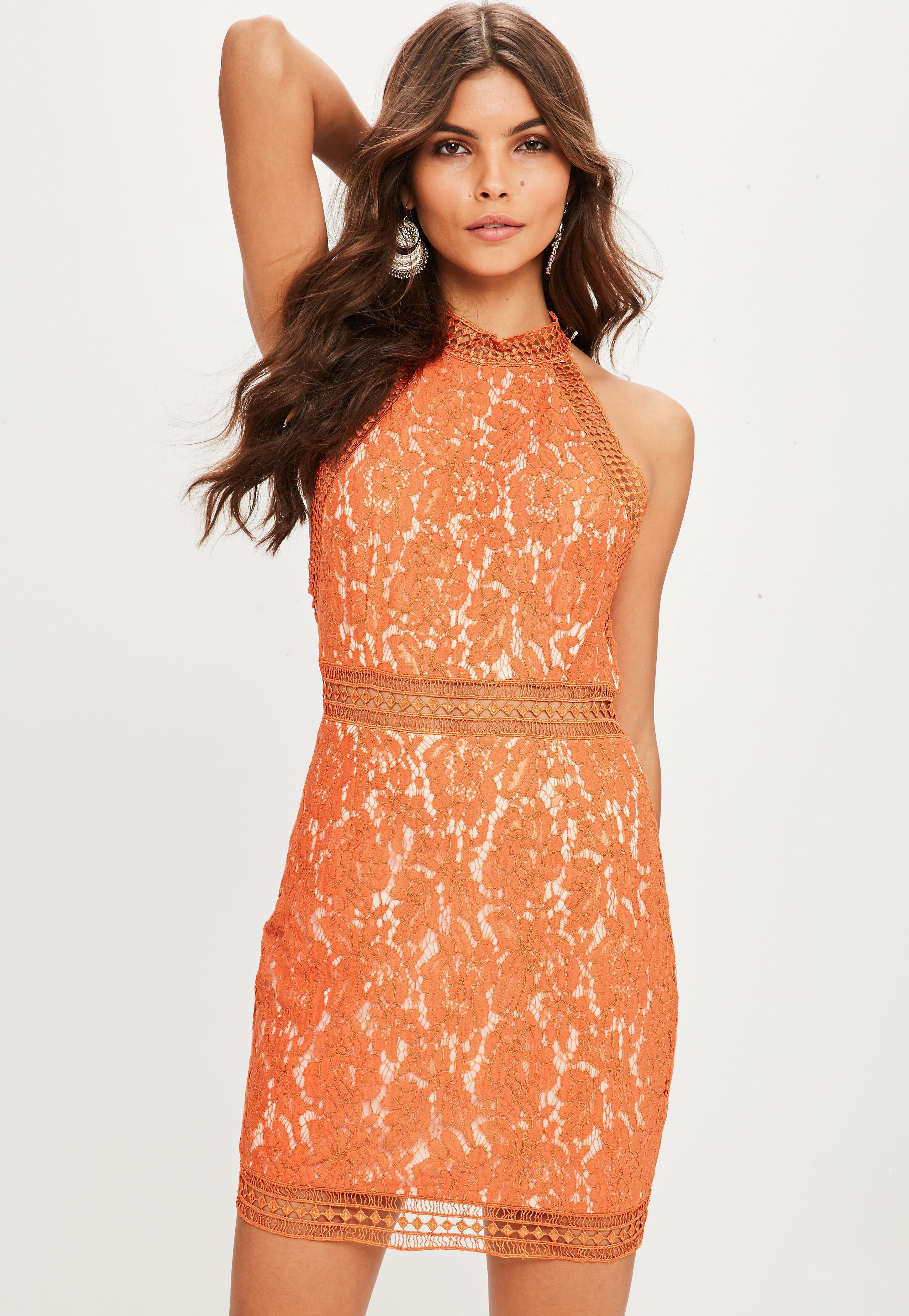 Molly mesh lace overlay bodycon dress