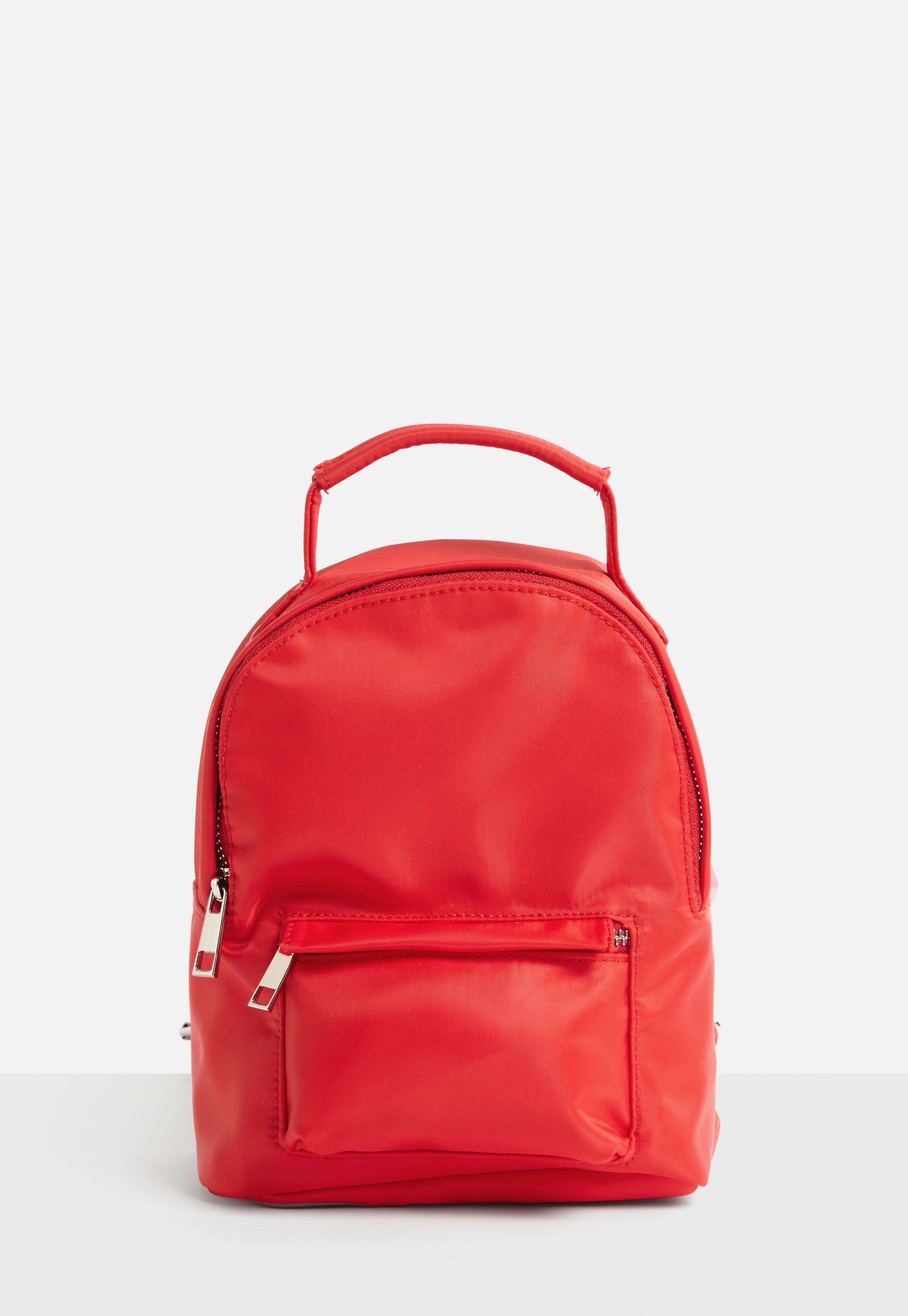 b6e4d07d48 Lyst - Missguided Red Mini Backpack in Red