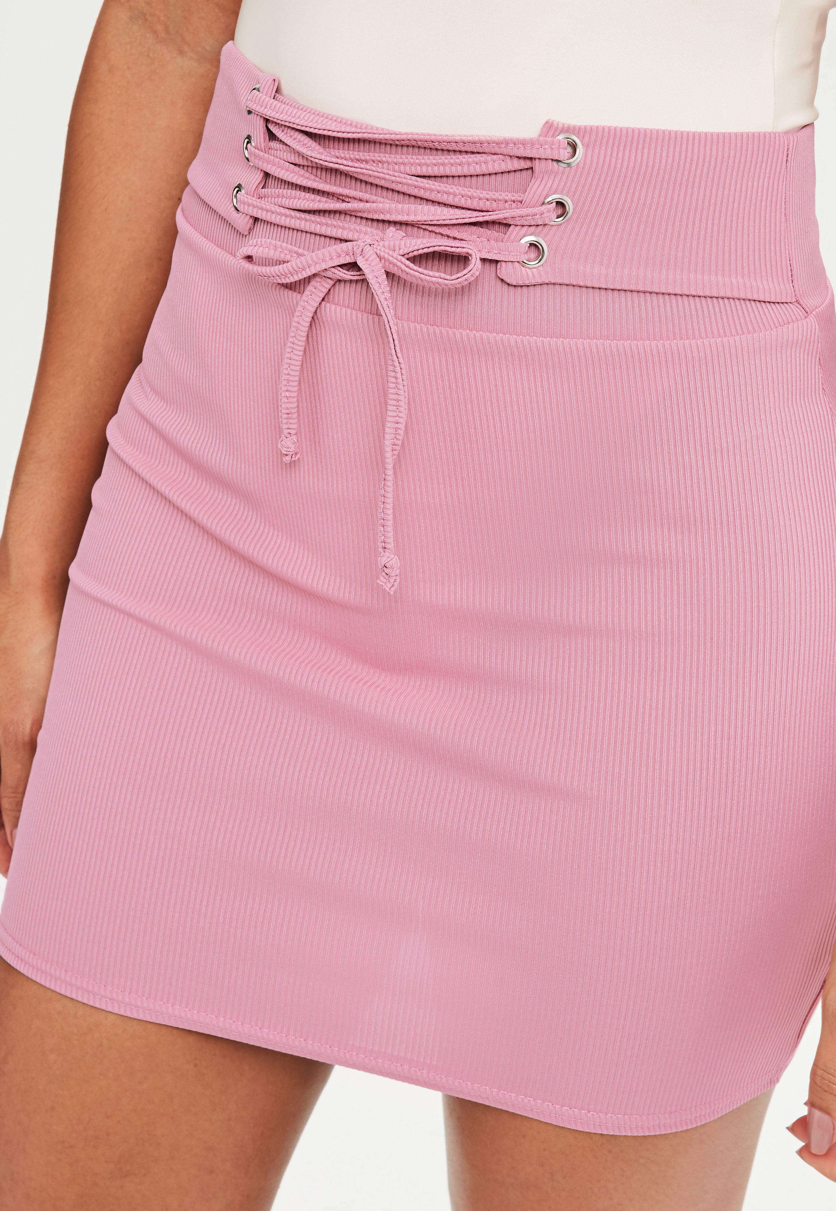 Pink mini skirt intolerable