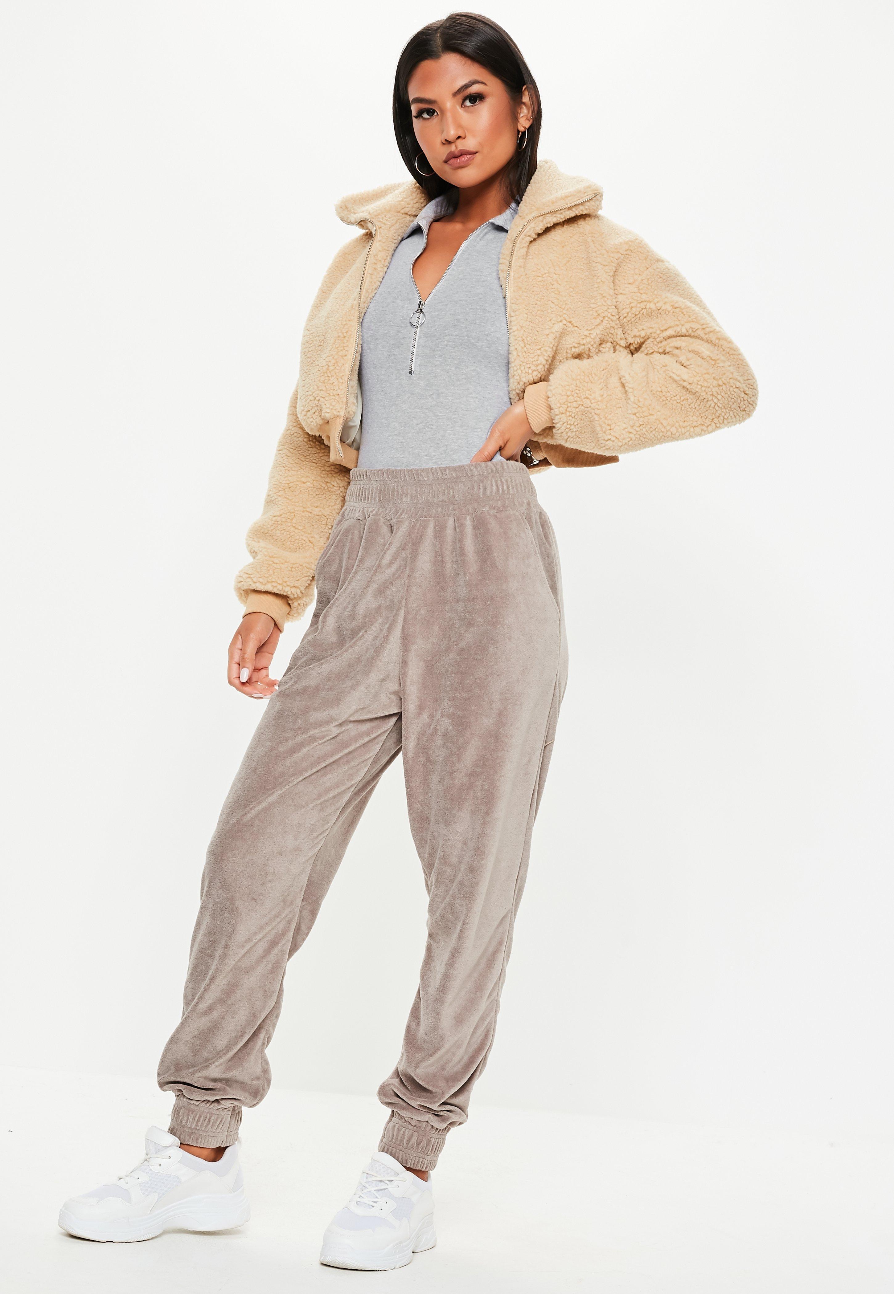 2c52b8ce4b Missguided - Gray Polo Zip Up Bodysuit - Lyst. View fullscreen