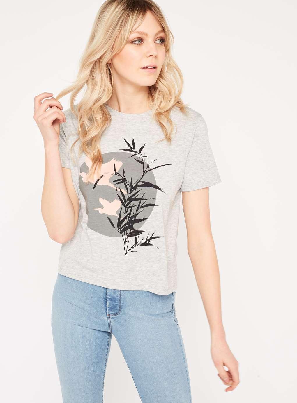 womens clothing shirts miss pink grey shirt