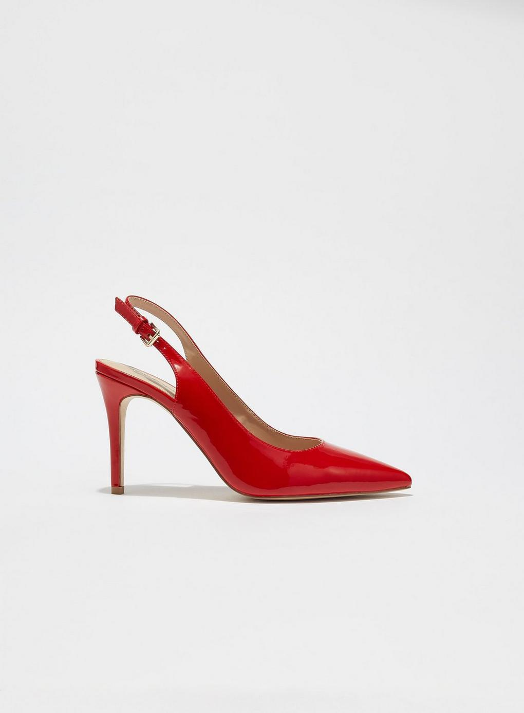 Selfridge Lyst Red Slingback Court Shoes Cathy In Miss 5jLA34R