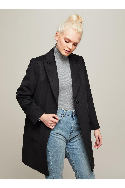 Coats Jackets Jacket Wallis Black Waterfall Duster