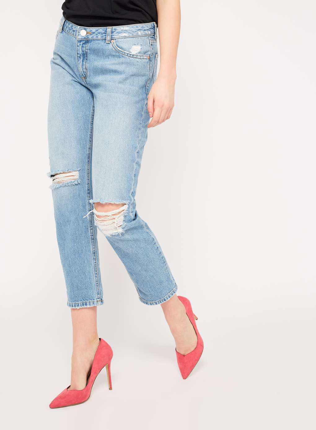 Manchester Womens Turndown Hem Boyfriend Jeans Miss Selfridge Brand New Unisex For Sale WK9Nr5RCB