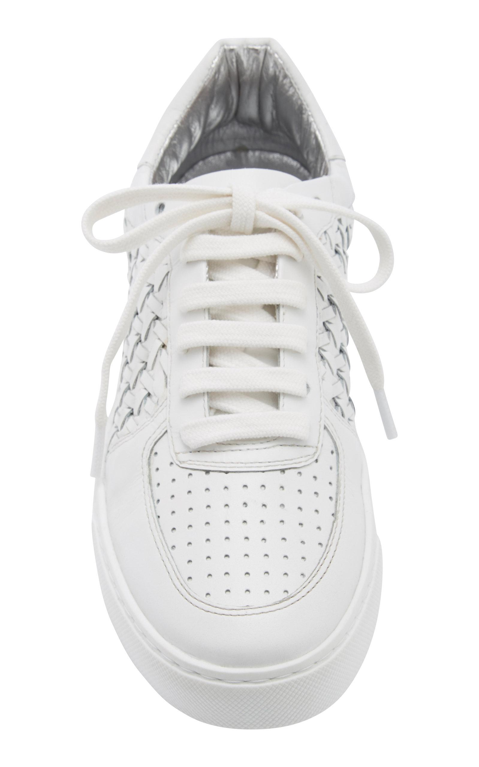 Zimmermann White Woven Sneaker $395 Men's Clothing