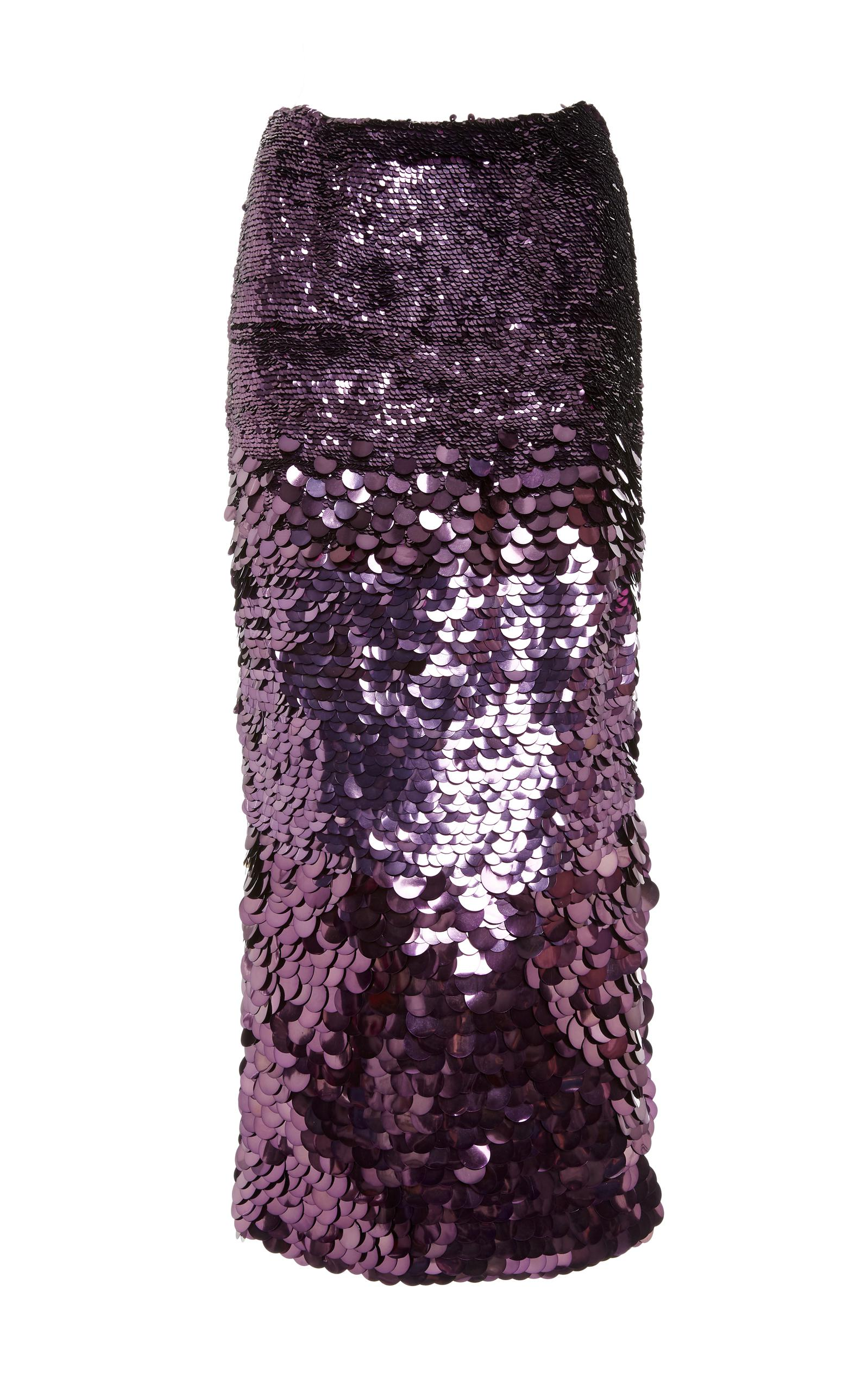 Sale Popular Degrade Sequin Pencil Skirt Sally Lapointe For Sale Wholesale Price Discount Prices Sale Sneakernews 1bq4x