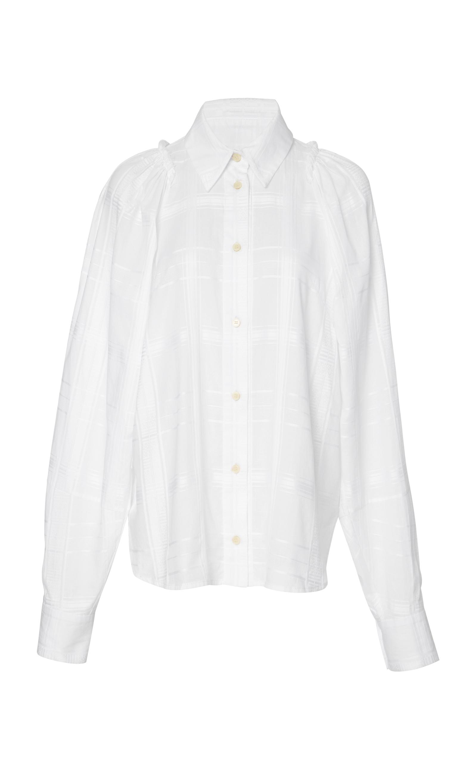 7db081b649a Lyst - Rachel Comey Expanse Button Down Top in White