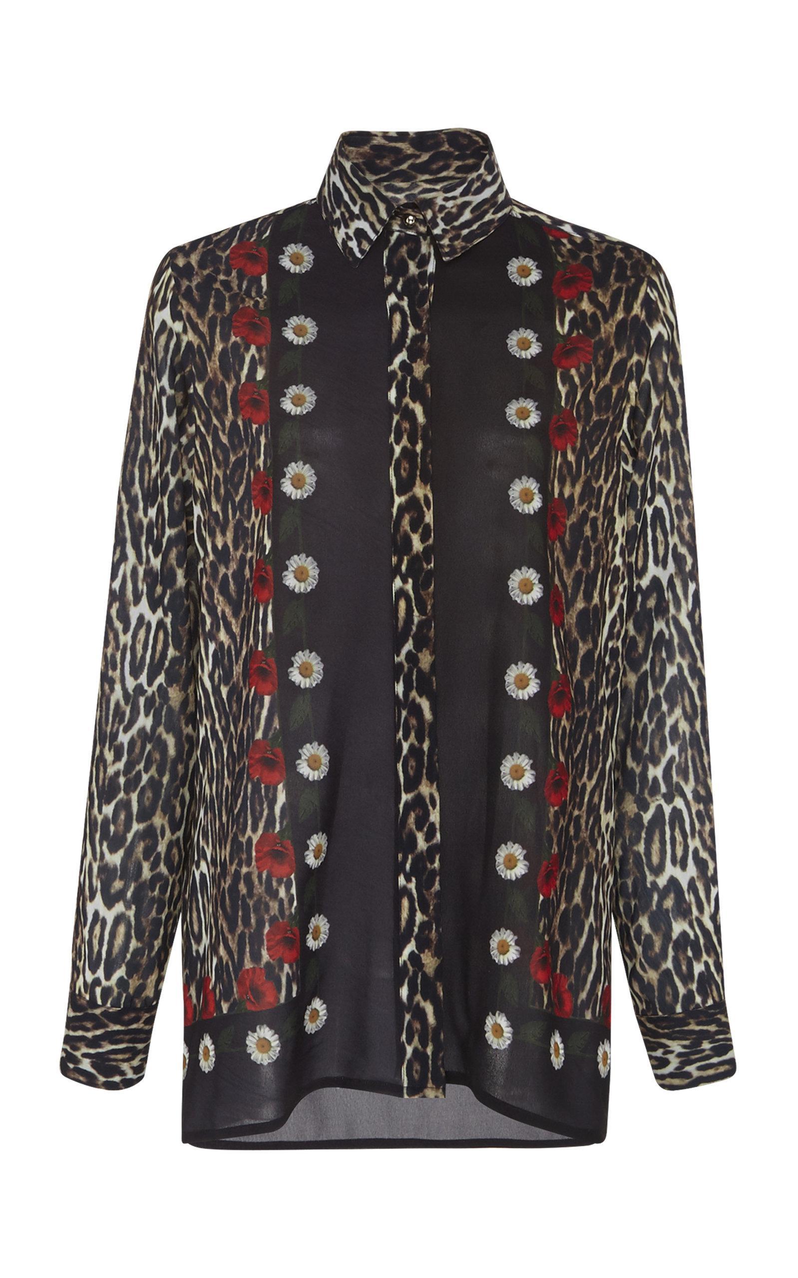 Printed Georgette shirt Elie Saab Buy Cheap Cost Cheap Sale Discounts bV8K0bRR