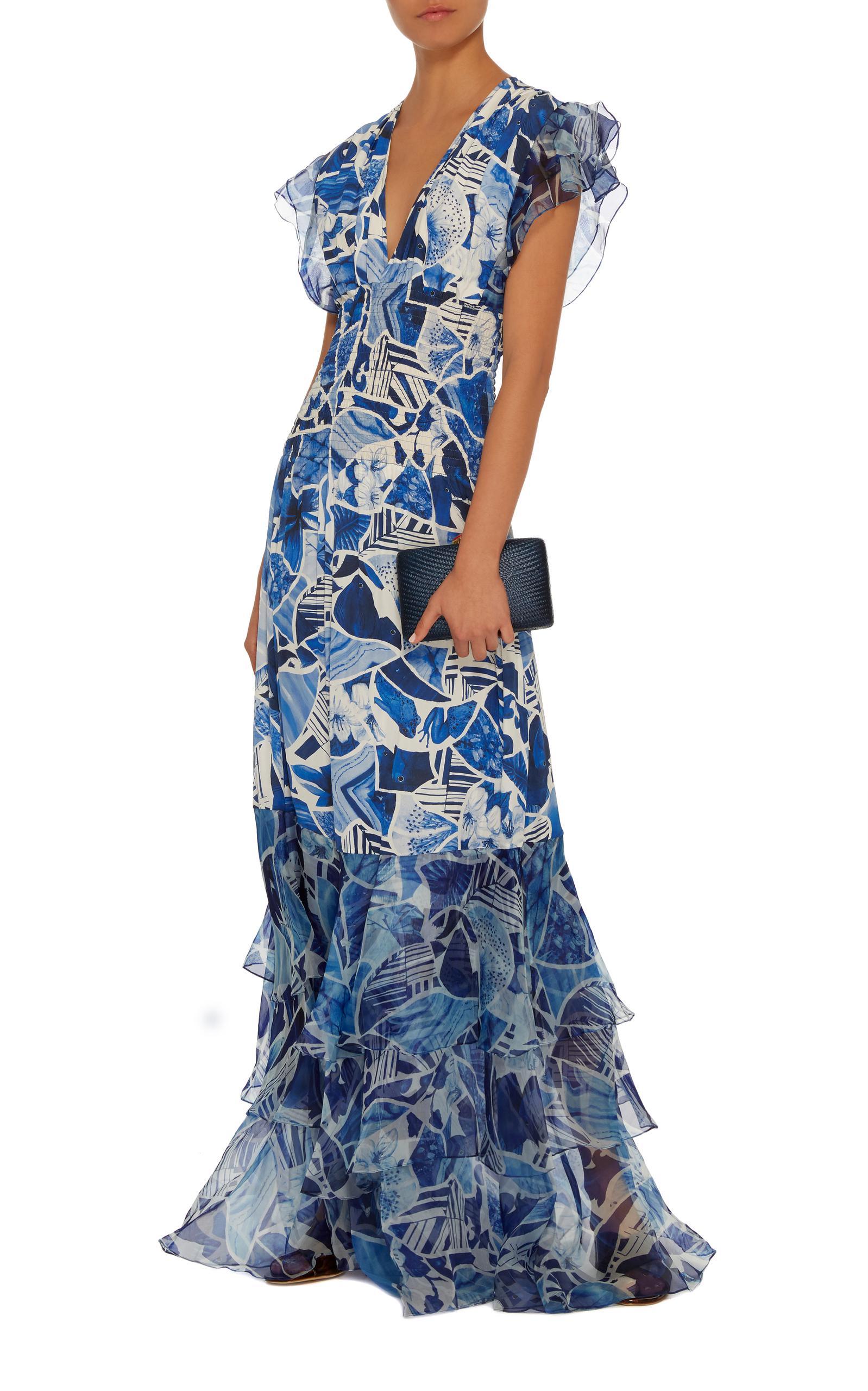 Clearance High Quality Azalea long dress - Blue Isolda Cheap Sale Very Cheap Best Wholesale Cheap Online Ia8j9g