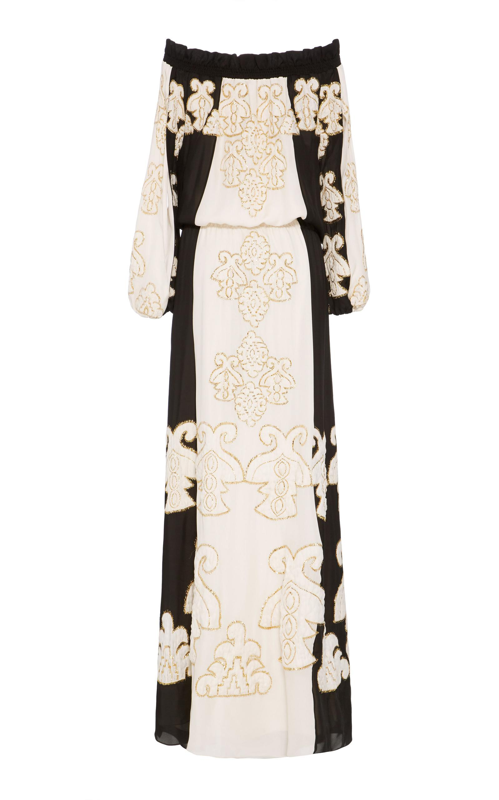 c0fa9d7f14 Lyst - Figue Embroidered India Gown