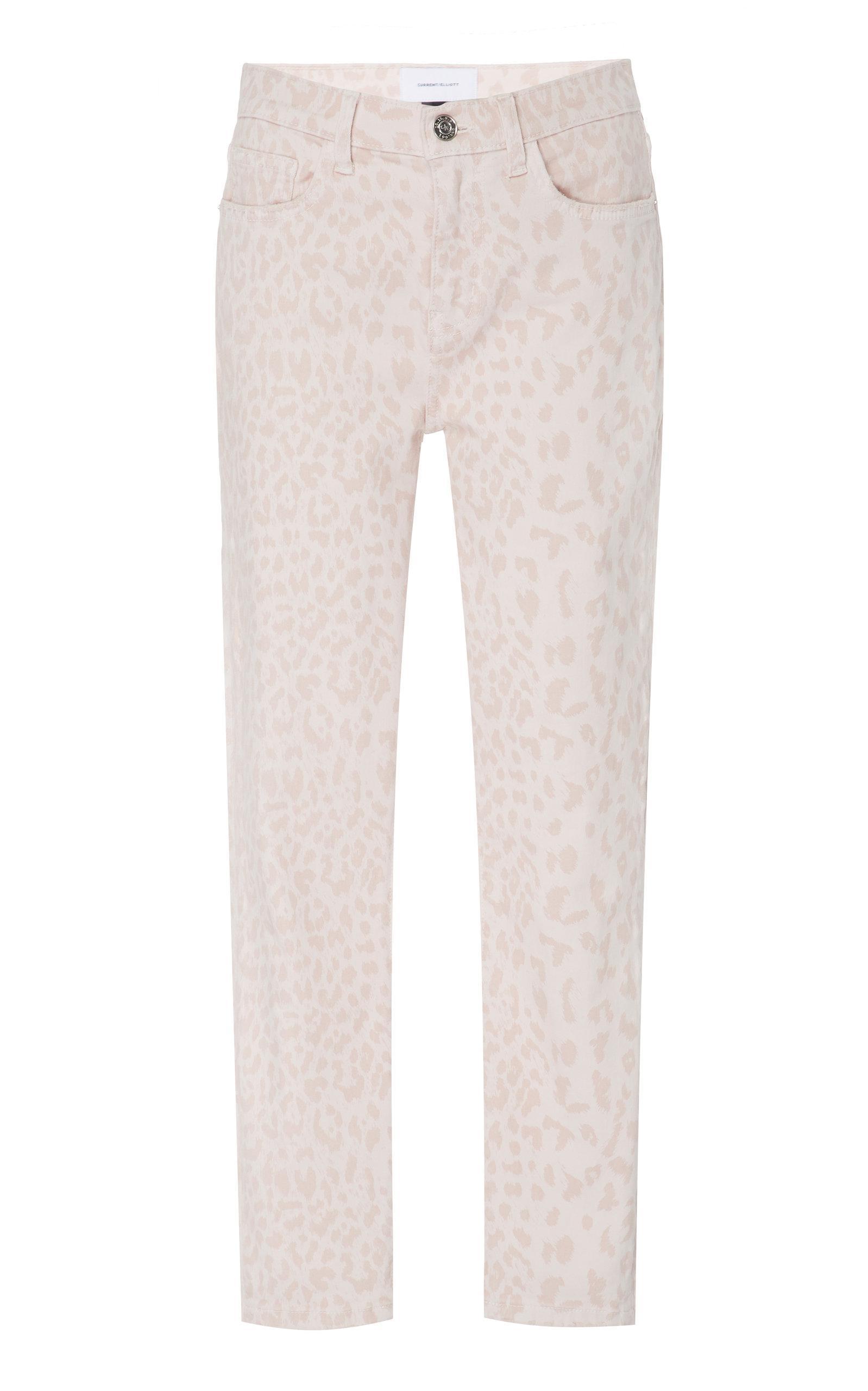76a922f7b Current/Elliott - Multicolor High Waist Stiletto Printed Skinny Jeans -  Lyst. View fullscreen