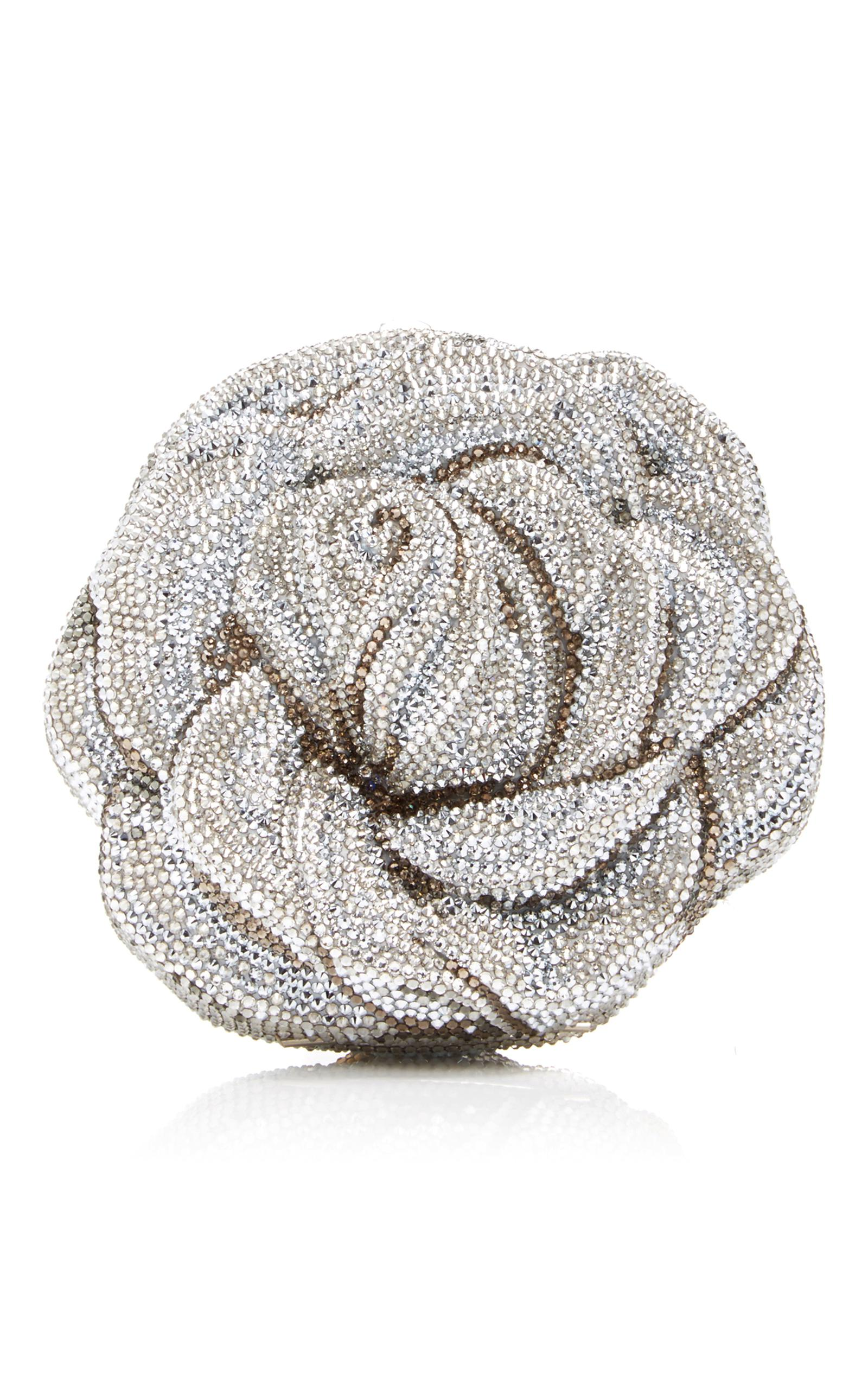 Apricot Rose Clutch Judith Leiber