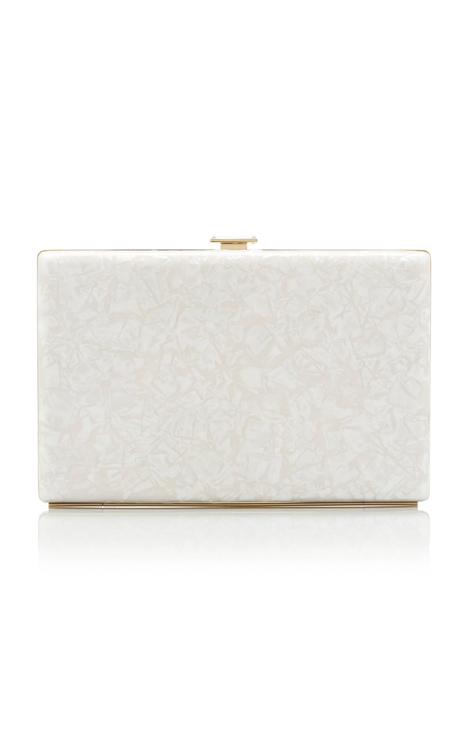6c196e1230 Lyst - Dolce   Gabbana Pvc Micro Crossbody Bag in White