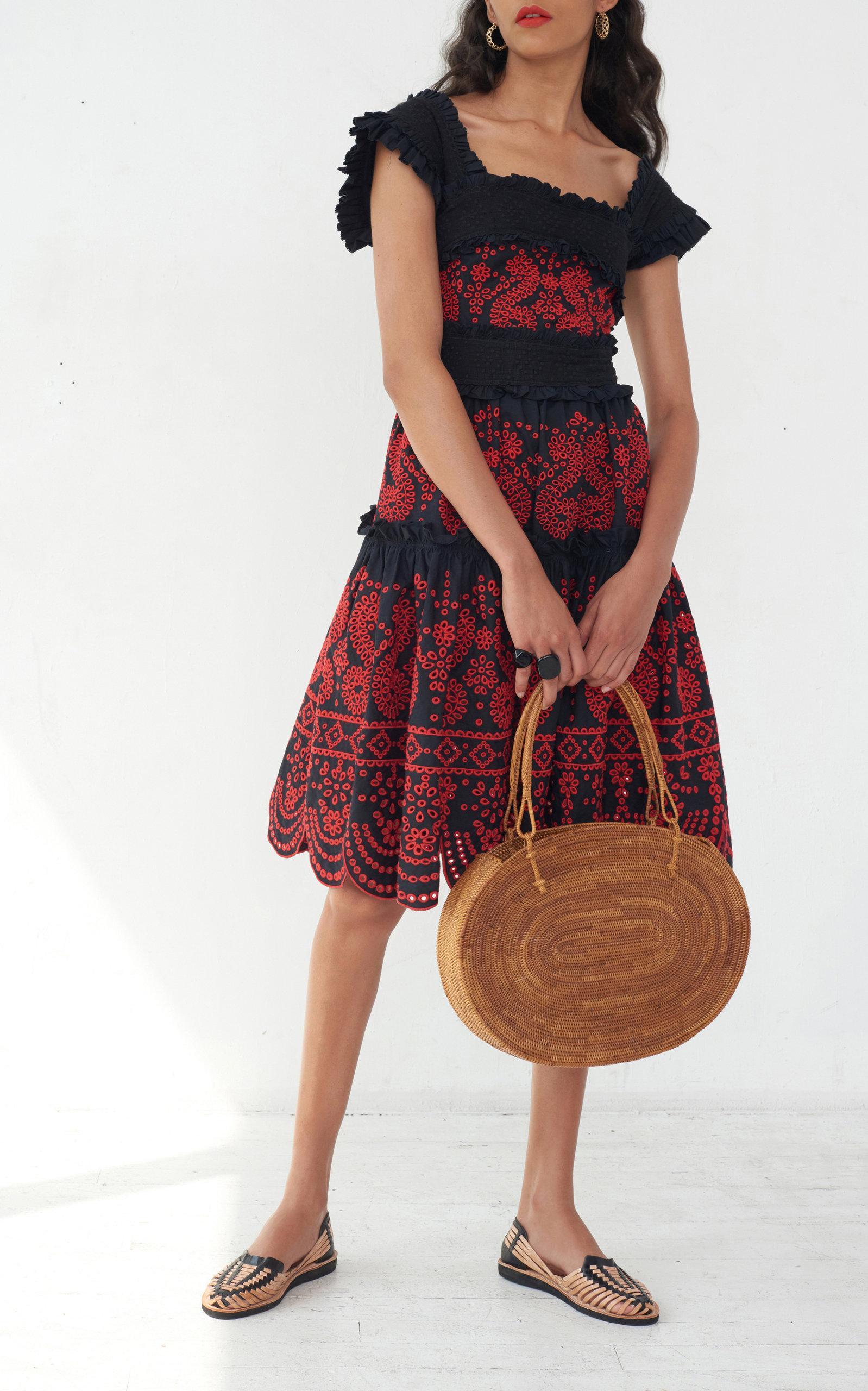 7ddad787881 ... Nicola Embroidered Dress - Lyst. View fullscreen