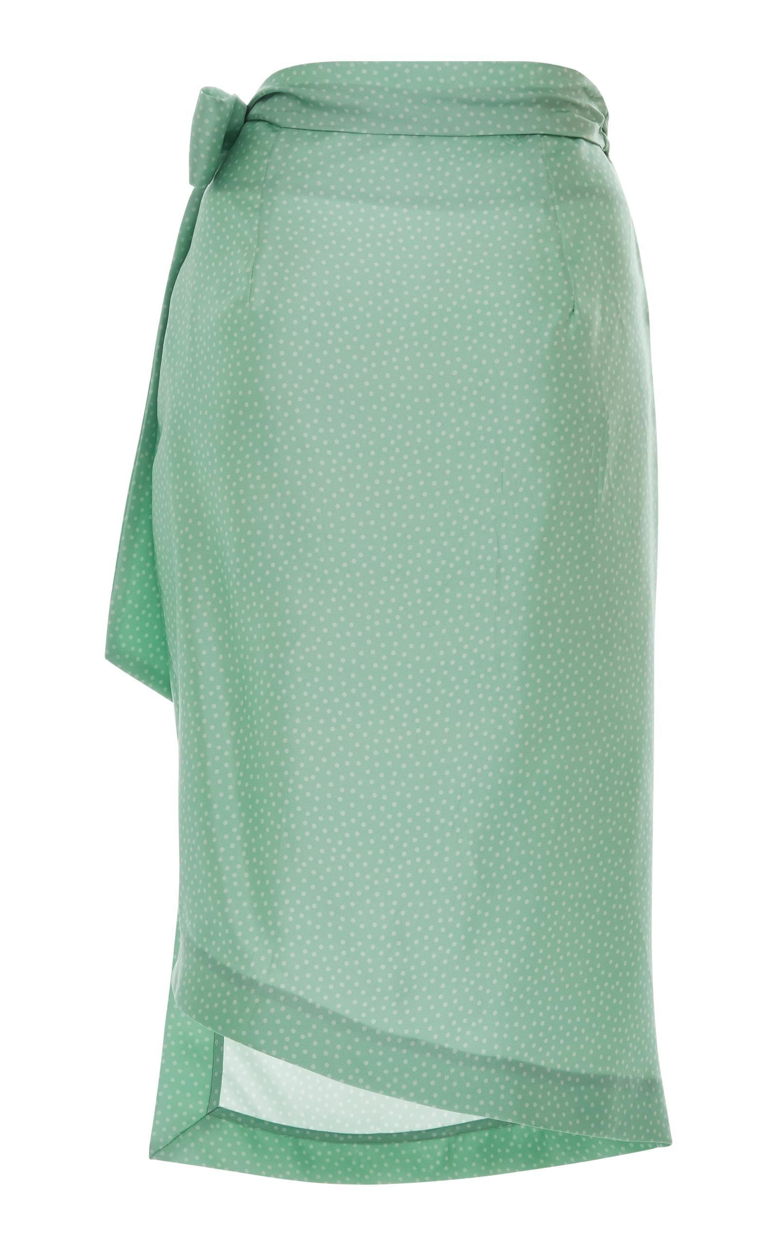 Lottie sarong skirt - Green Cult Gaia