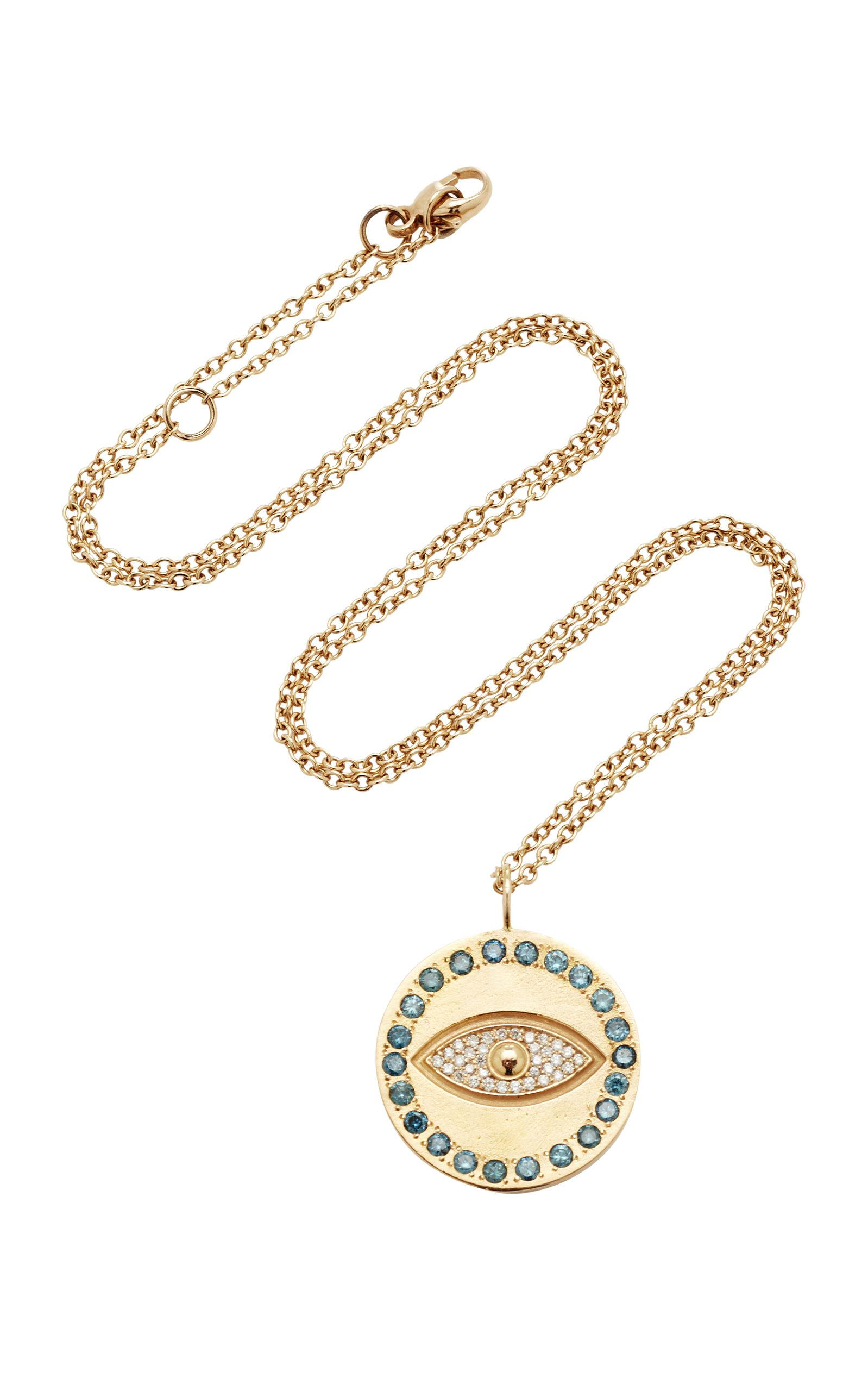 Snake Charm 18K White Gold Black and White Diamond Necklace Misahara trnaq