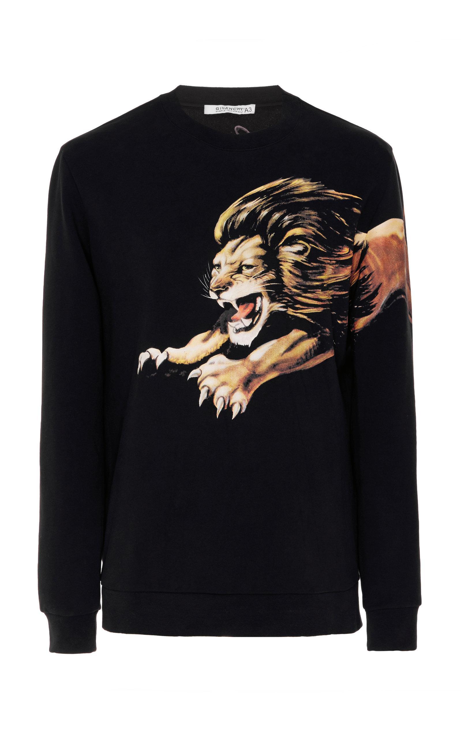 Lion Lion Givenchy print print Givenchy Sweatshirt Lion Sweatshirt Lion print Givenchy Givenchy print Sweatshirt Lion Sweatshirt rCAqwr4