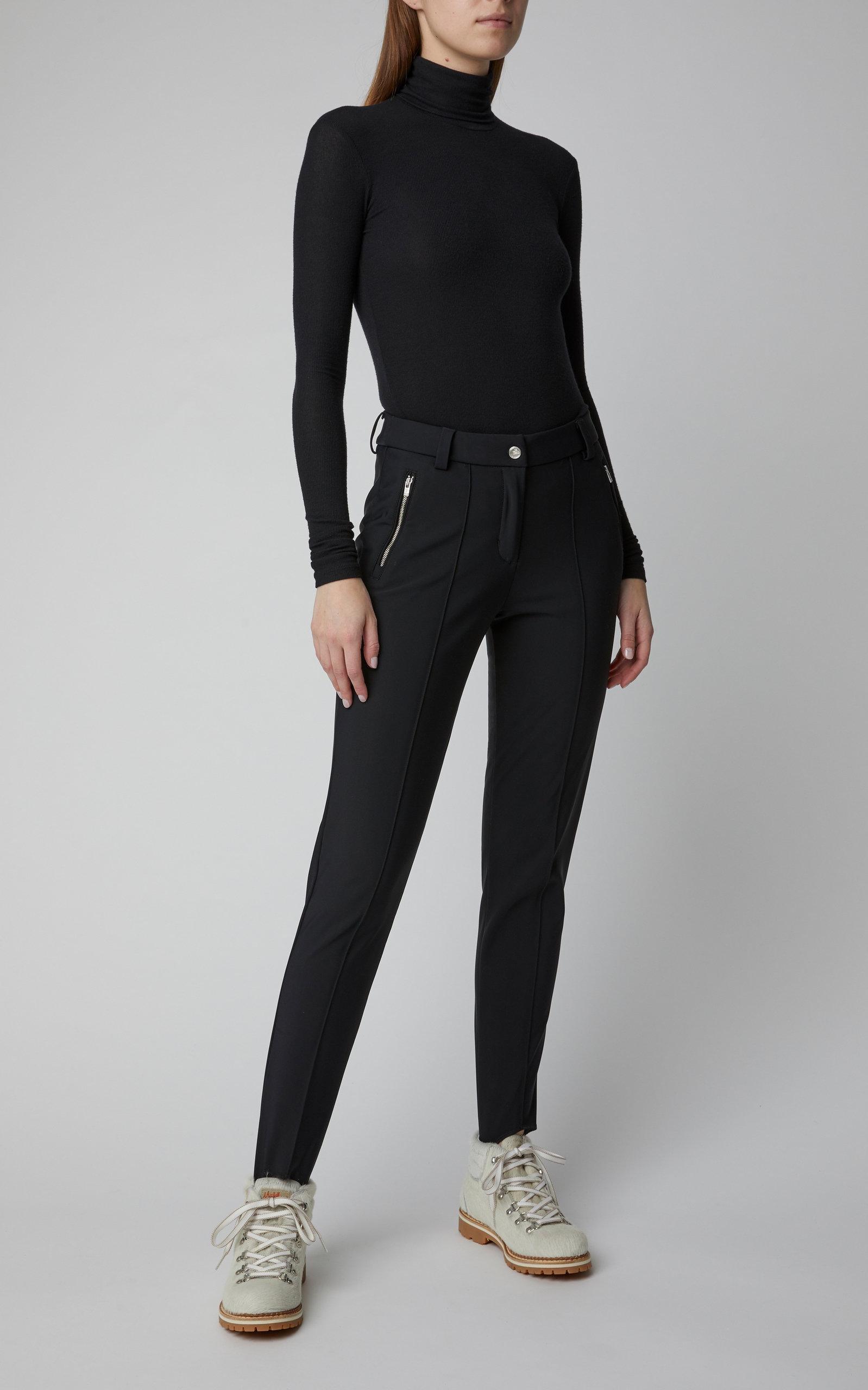 Pants Belalp Stretch Black Fusalp In Lyst Knit Stirrup sthQCxrd