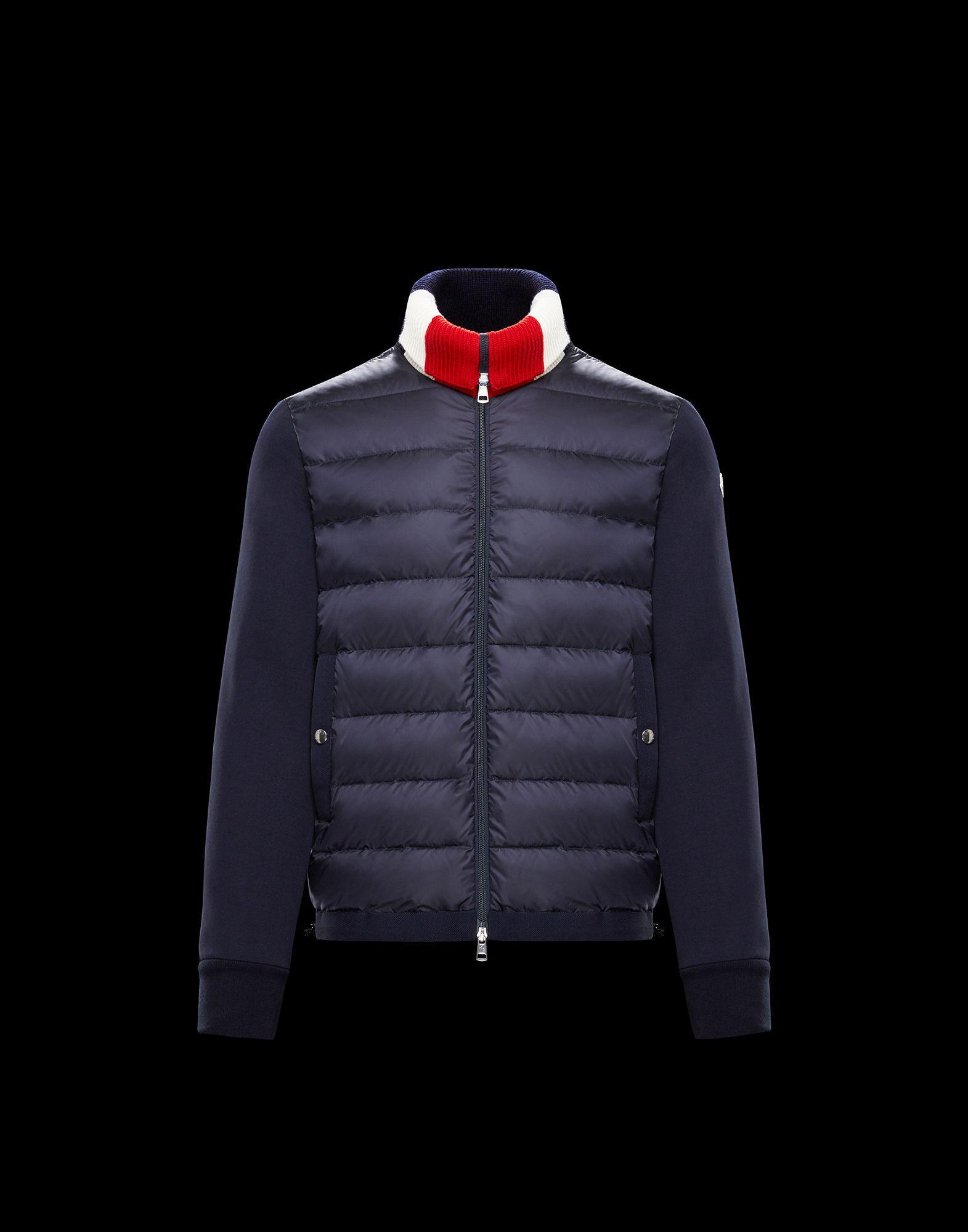 8d2f743dd Lyst - Moncler Sweatshirt in Blue for Men