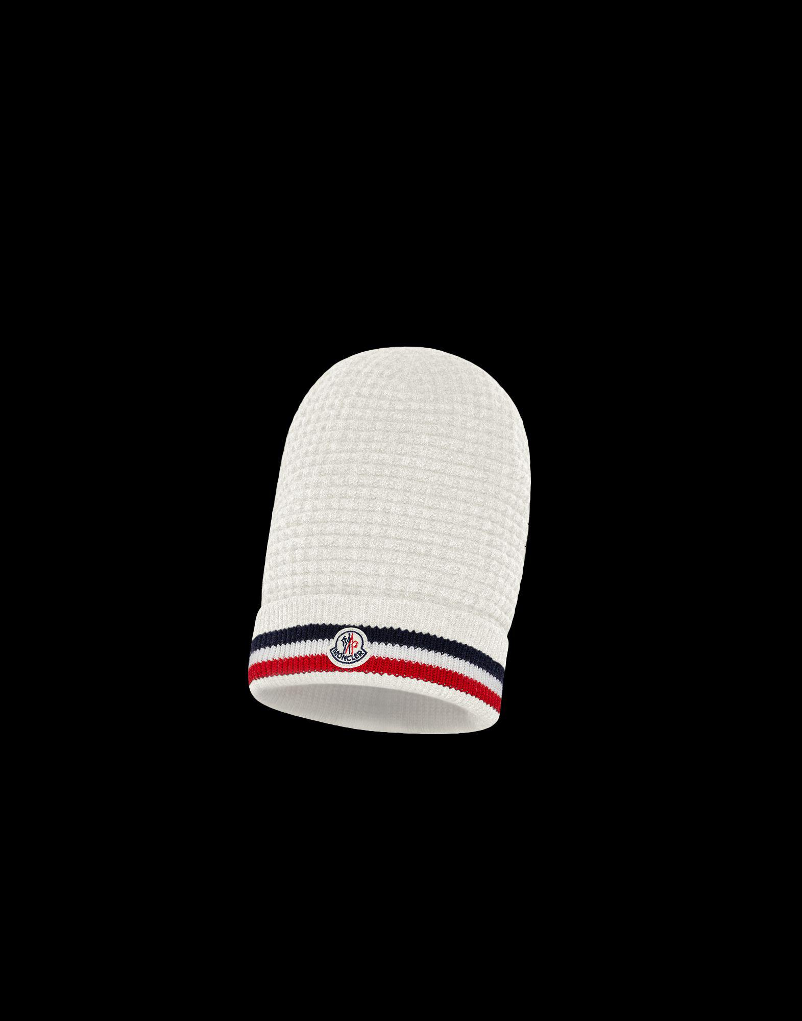 d476984a210d Moncler Hat in White for Men - Lyst