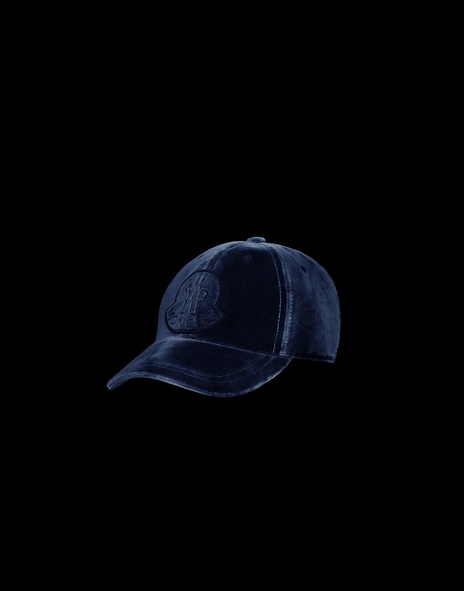 2bdb3dc7719 Moncler - Blue Hat - Lyst. View fullscreen