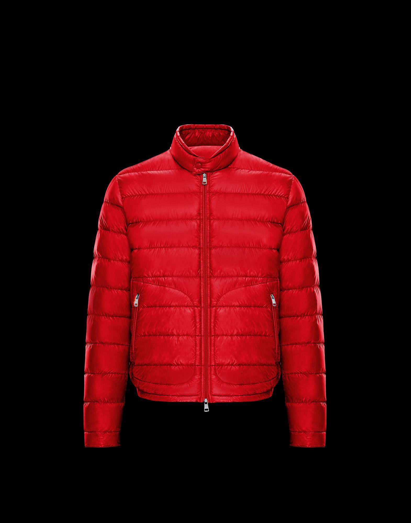 482c3edf4 Lyst - Moncler Acorus in Red for Men