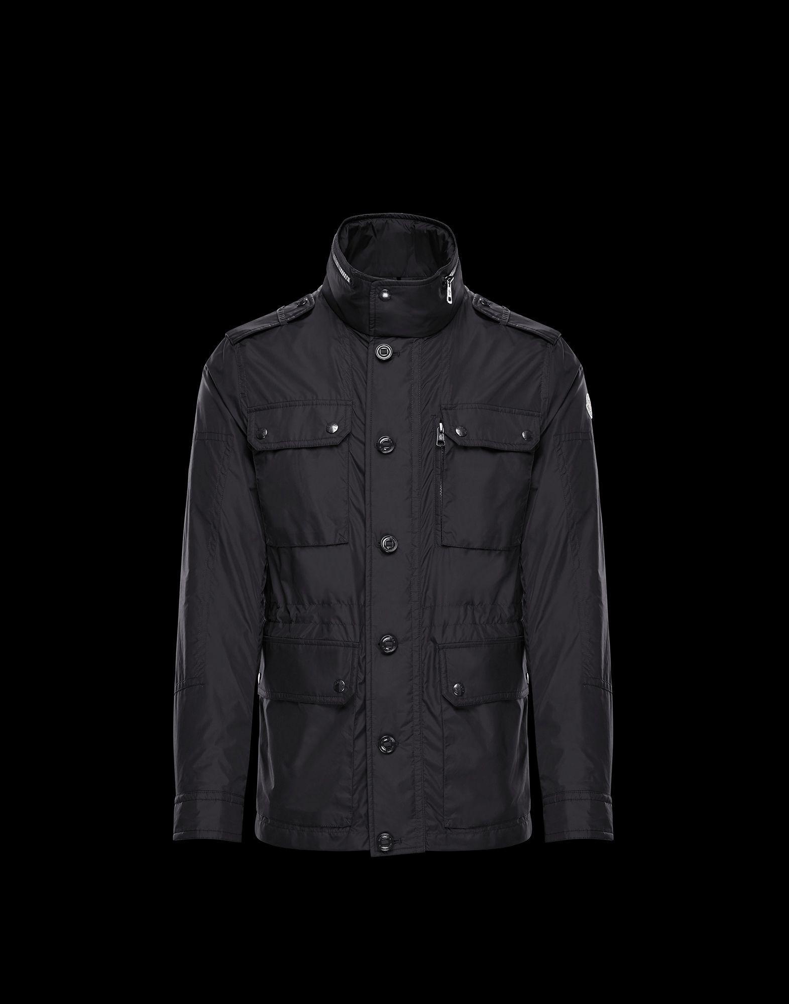 bdae45c49 Moncler Cristian in Black for Men - Lyst