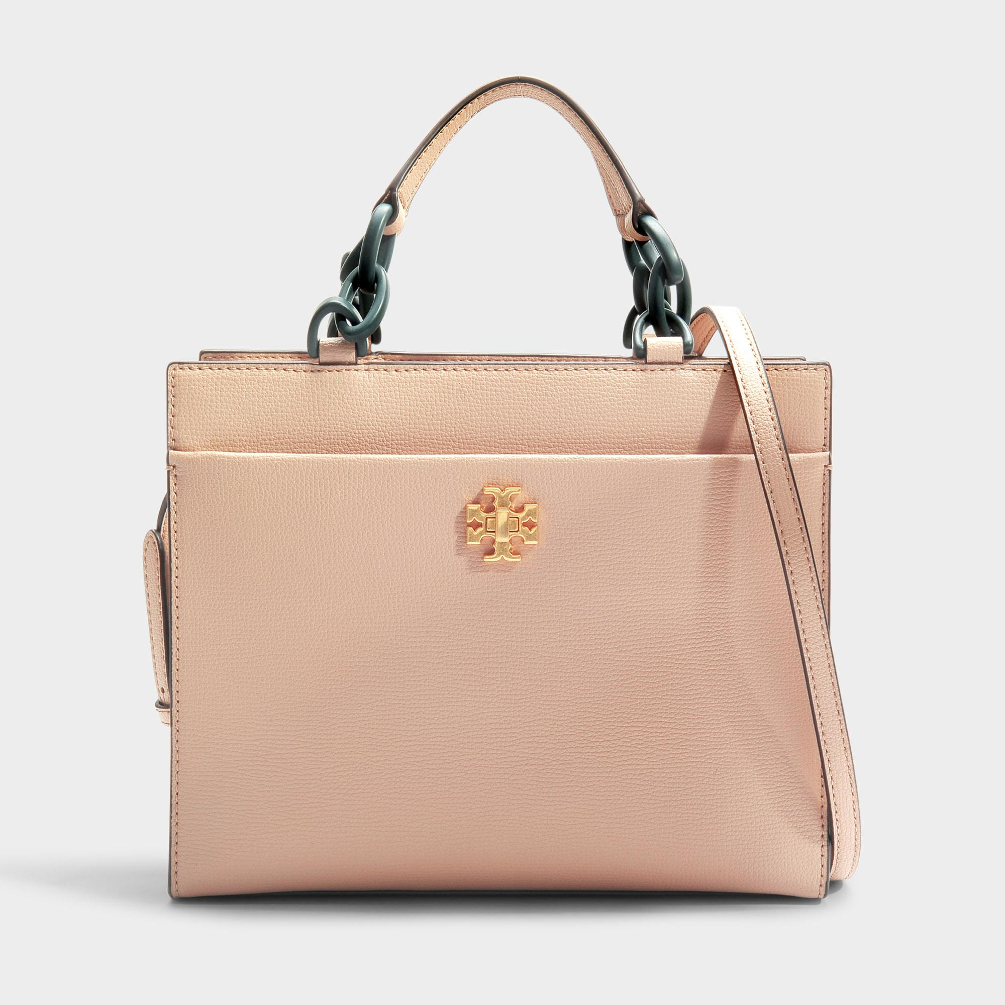 a4f1bb155b5b Tory Burch Kira Small Tote in Natural - Lyst