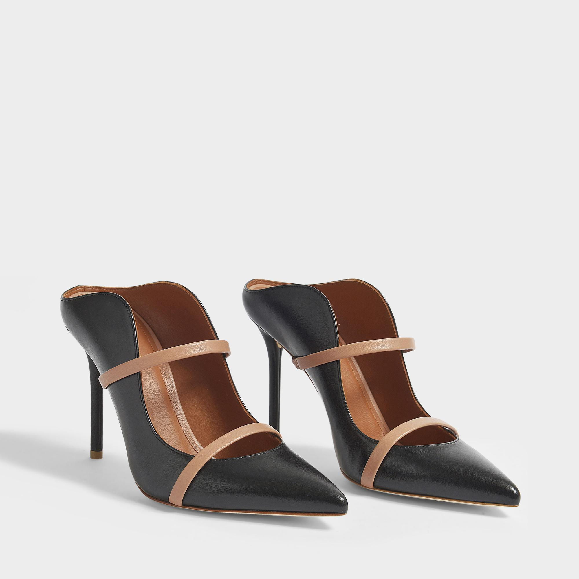 78f7a72ba12ff malone-souliers--Maureen-100-High-Mule-Shoes -In-Black-And-Nude-Nappa-Leather.jpeg