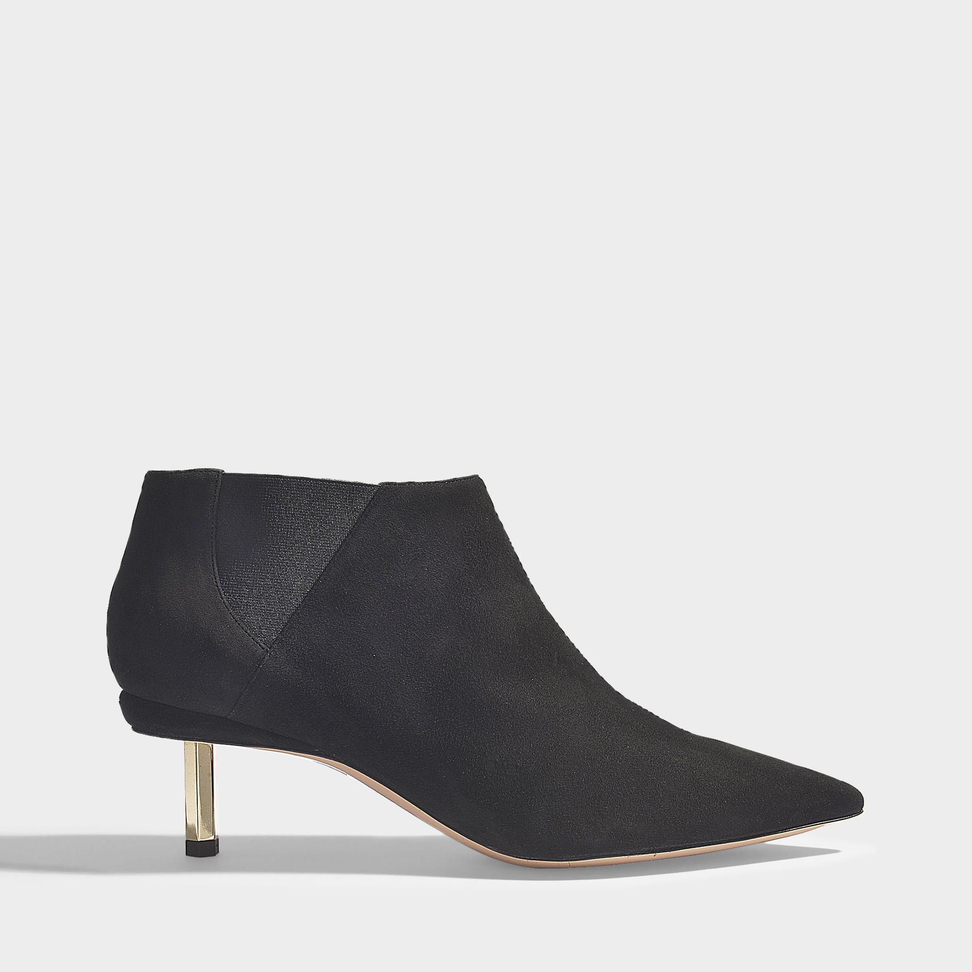 Nicholas Kirkwood. Women s Polly Chelsea Boots In Black Suede Leather 6d991dc8052f4