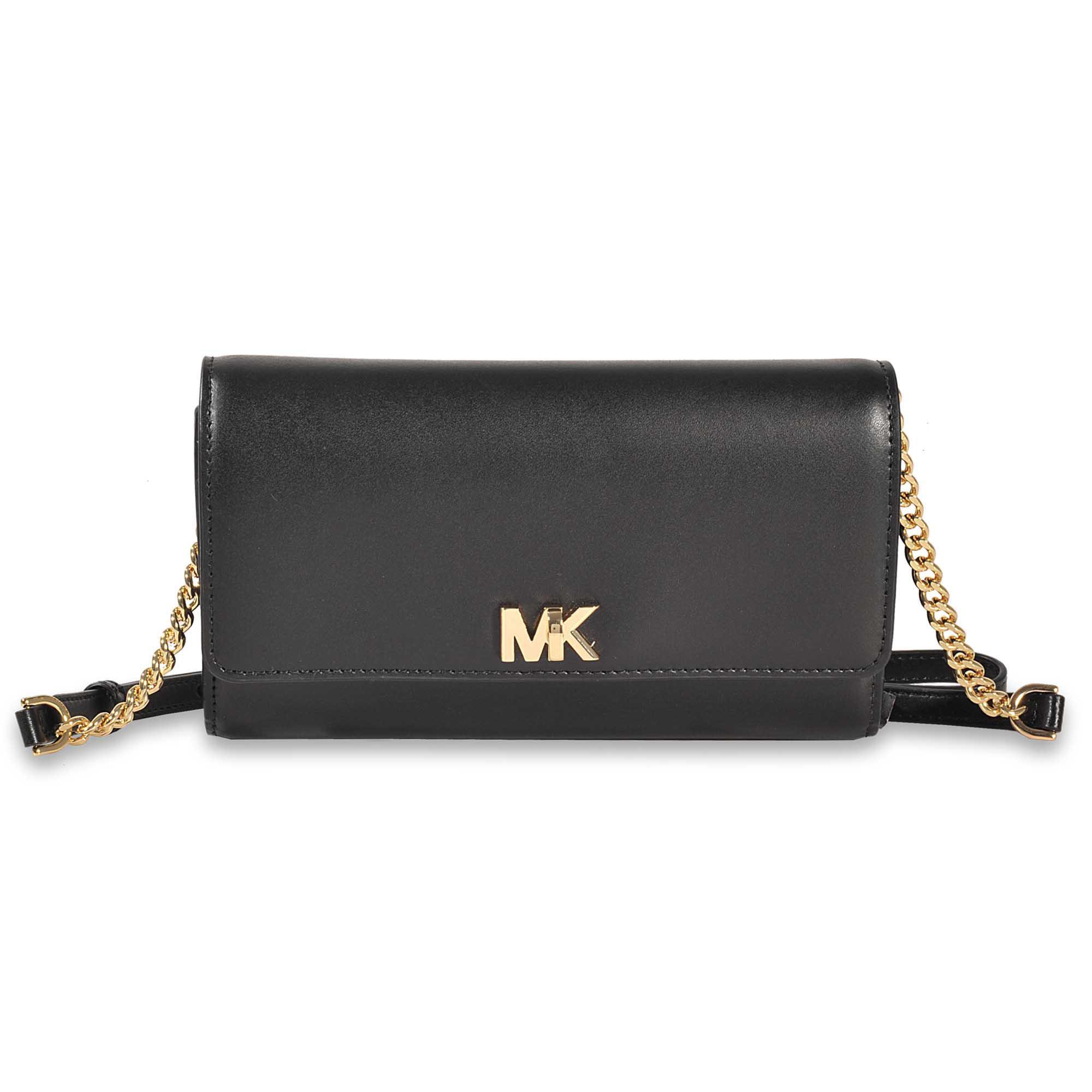 6593995564e1 Lyst - MICHAEL Michael Kors Mott Xl Wallet Clutch in Black