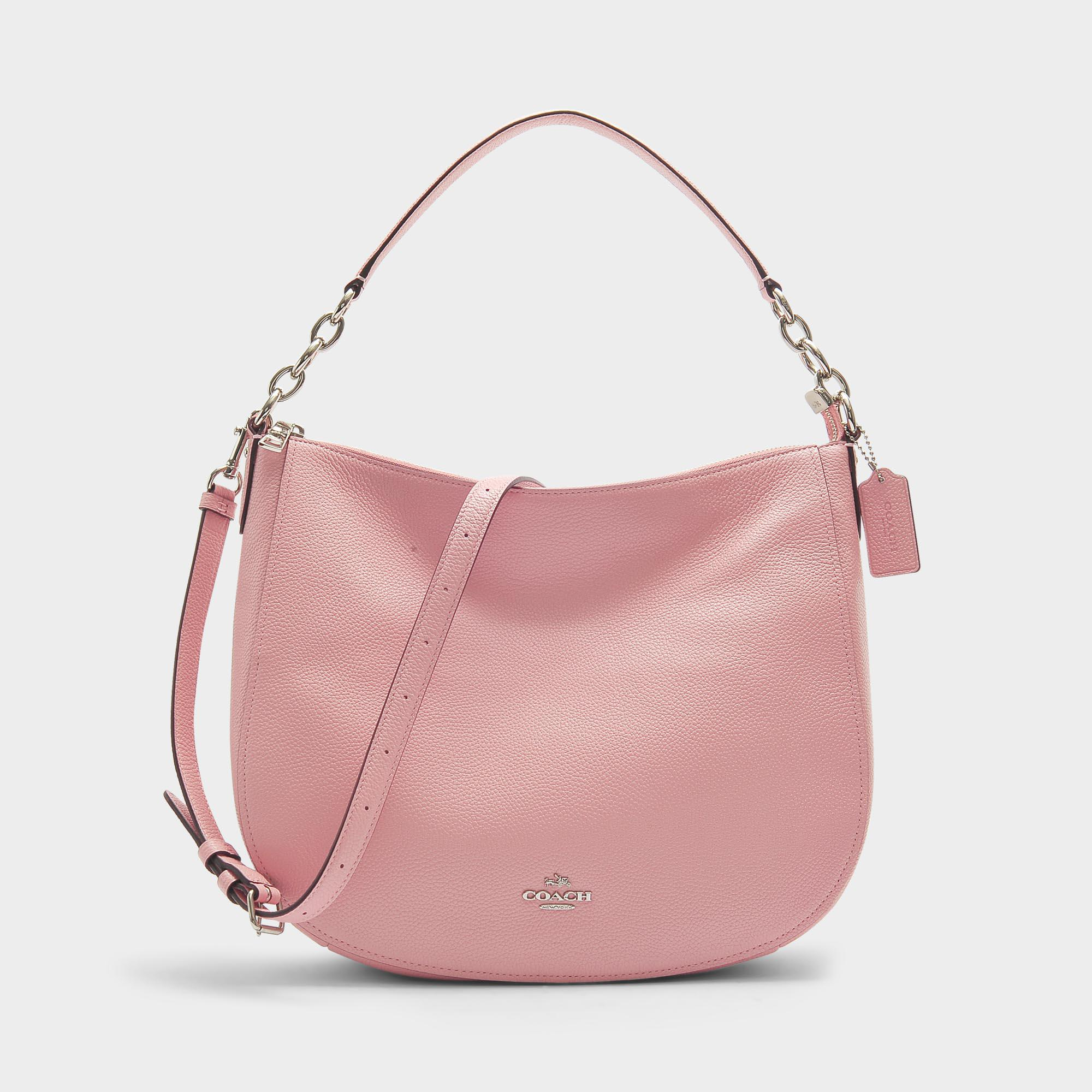 b272e9ab27 COACH Chelsea 32 Hobo Bag In Peony Calfskin in Pink - Lyst